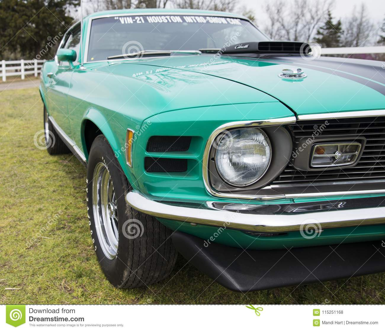 1970 Mustang Mach 1 Editorial Stock Photo Image Of Door 115251168 Ford