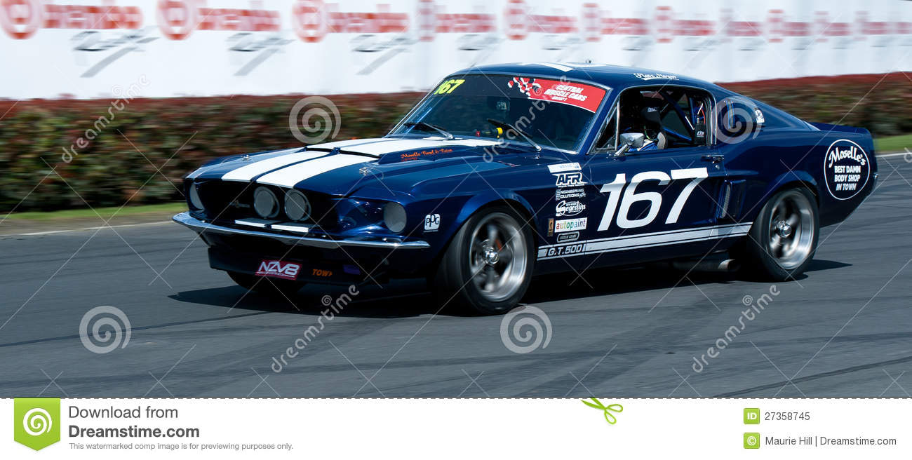 Mustang Muscle Car Racing Editorial Image Image