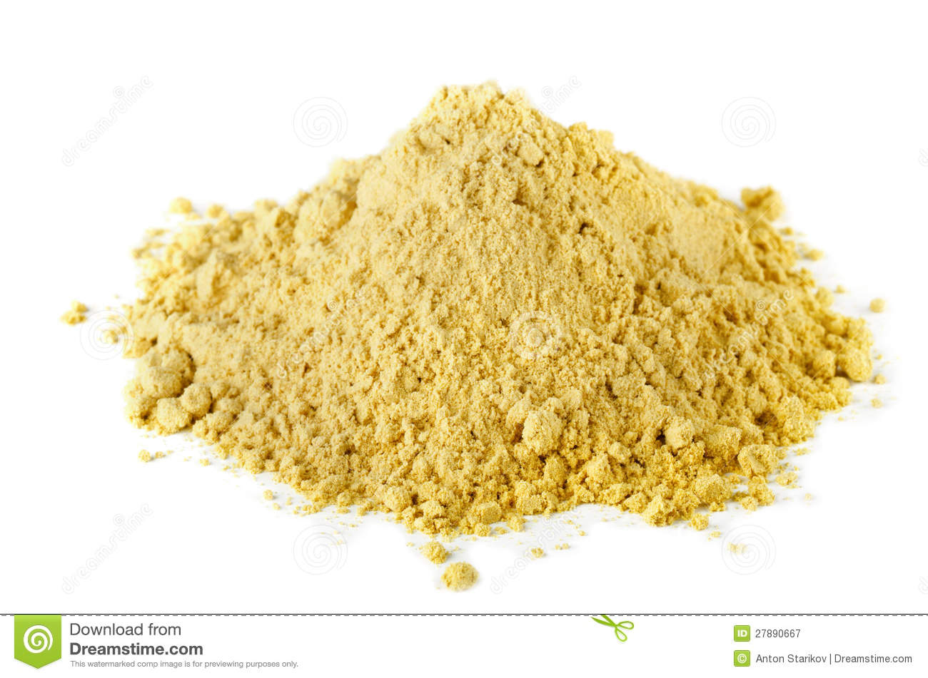how to make dry mustard powder
