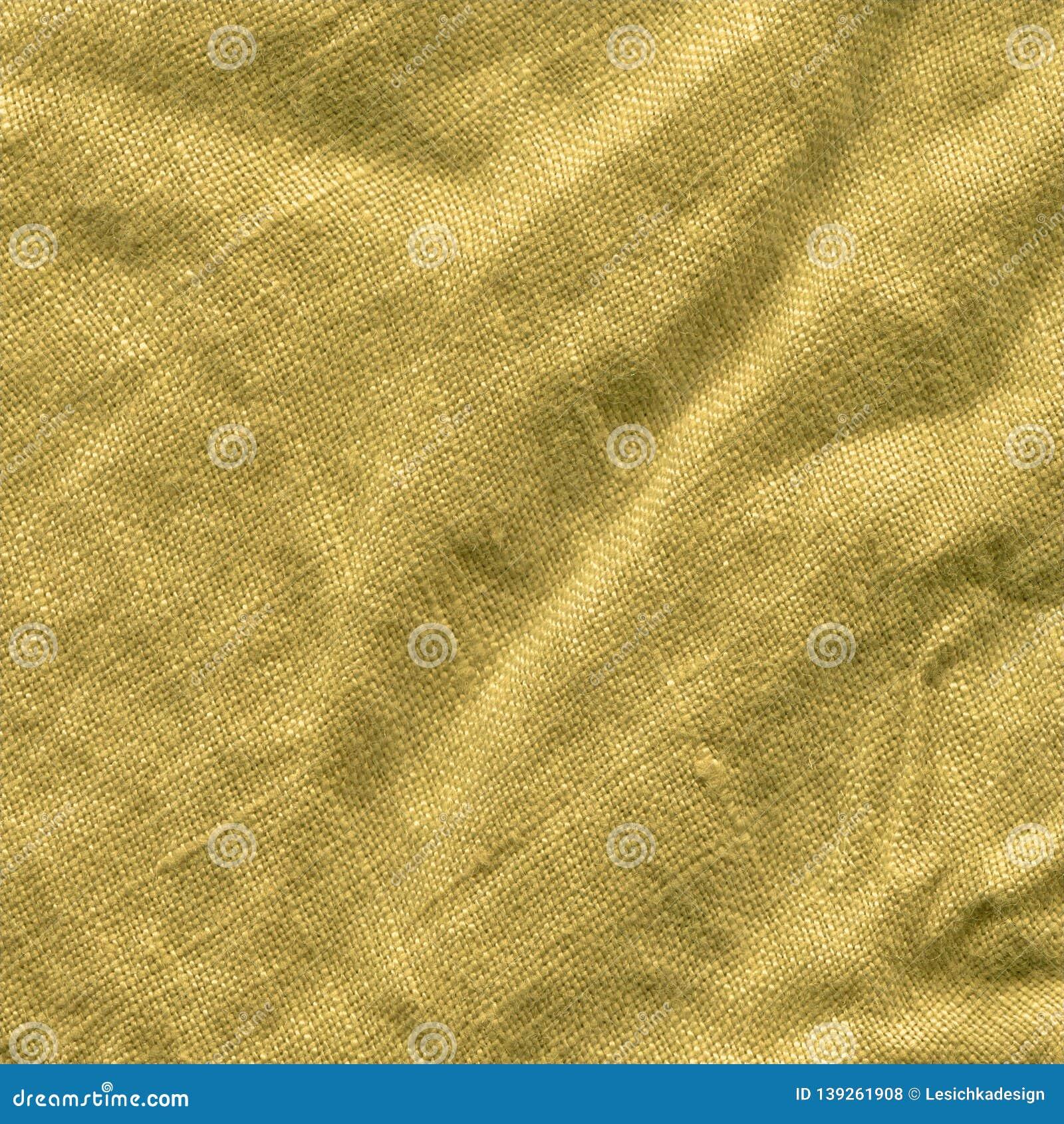 Mustard Color Fabric Closeup Stock Photo - Image of fabric