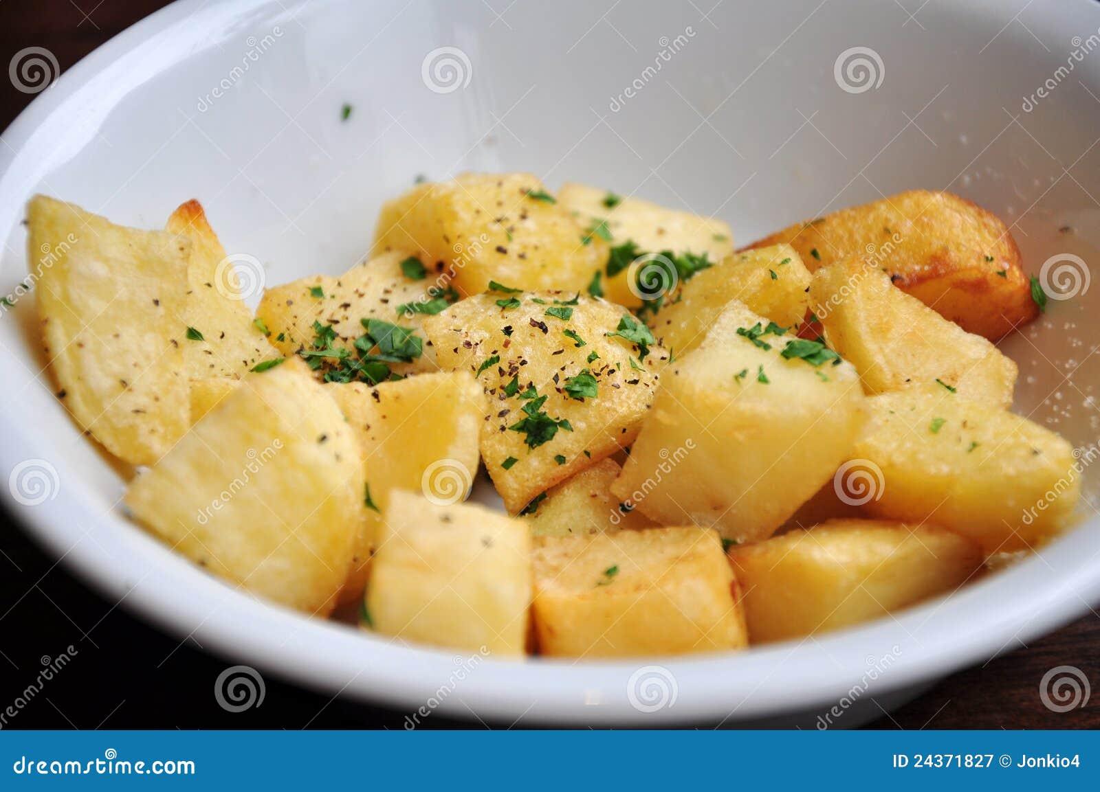 Mustard Roast Potatoes Royalty Free Stock Photography ...