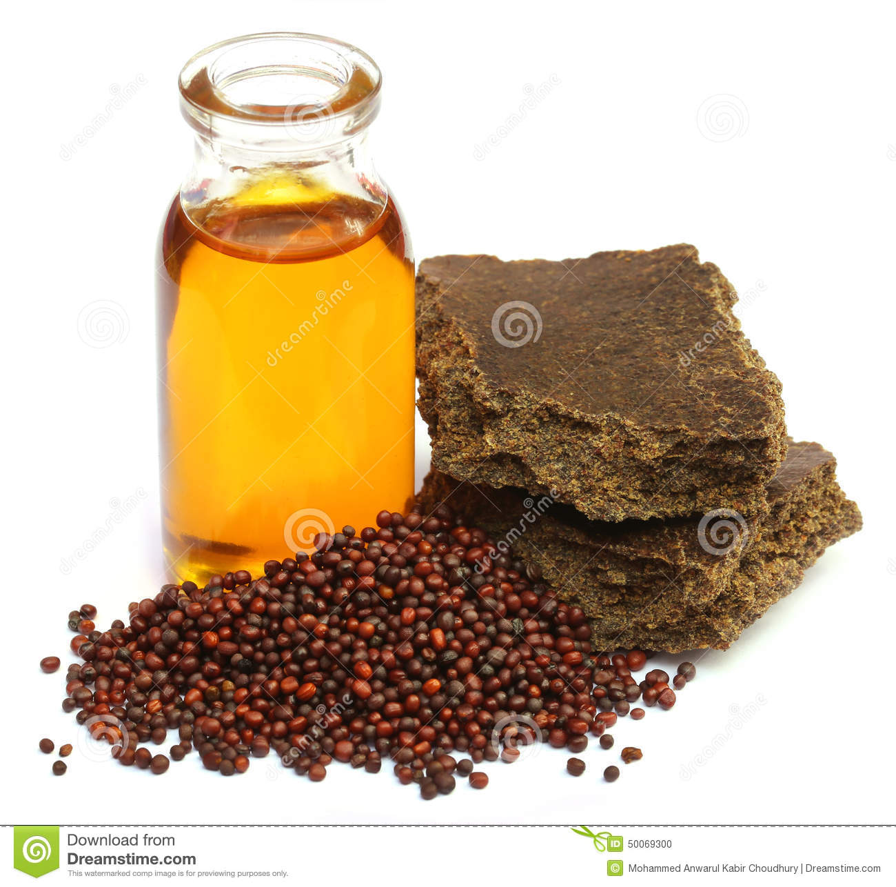 mustard seeds oil and cake stock photo image 50069300