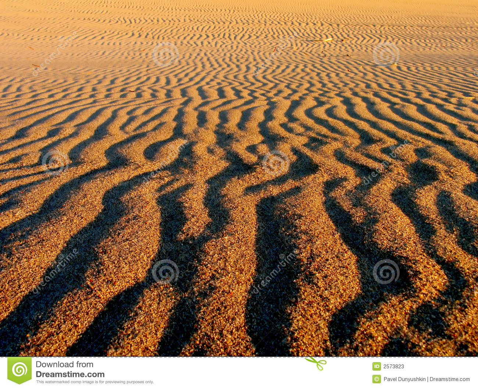 Muster auf Sand