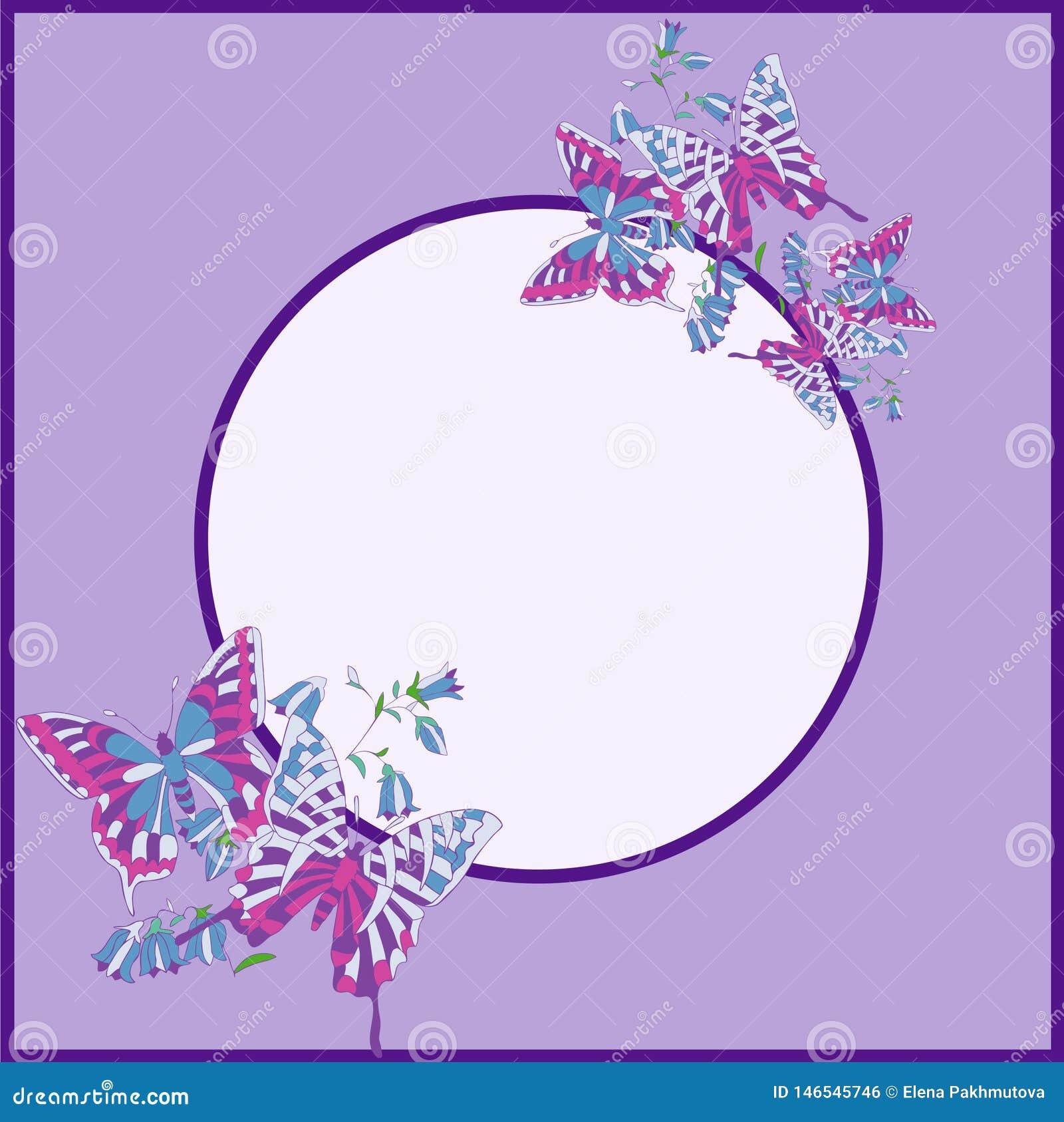 Muster, Blume, mit Blumen, nahtlos, abstrakt, Schmetterling, Dekoration, Rosa, Blumen, Entwurf, Illustration, Natur, Wei?, Rot, K