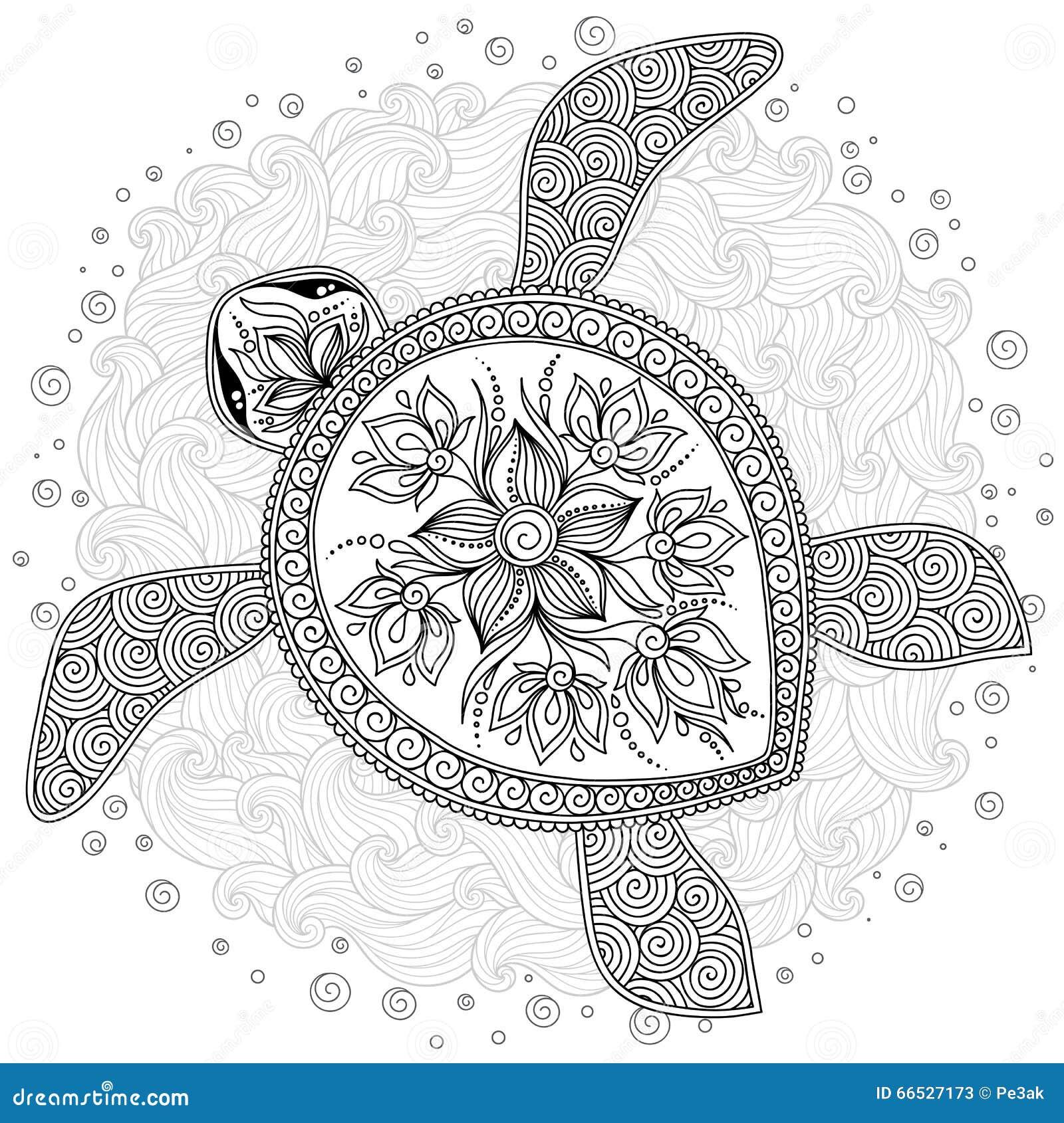 Kleurplaat Frozen Olaf Summer Muster F 252 R Malbuch Dekorative Grafische Schildkr 246 Te Vektor