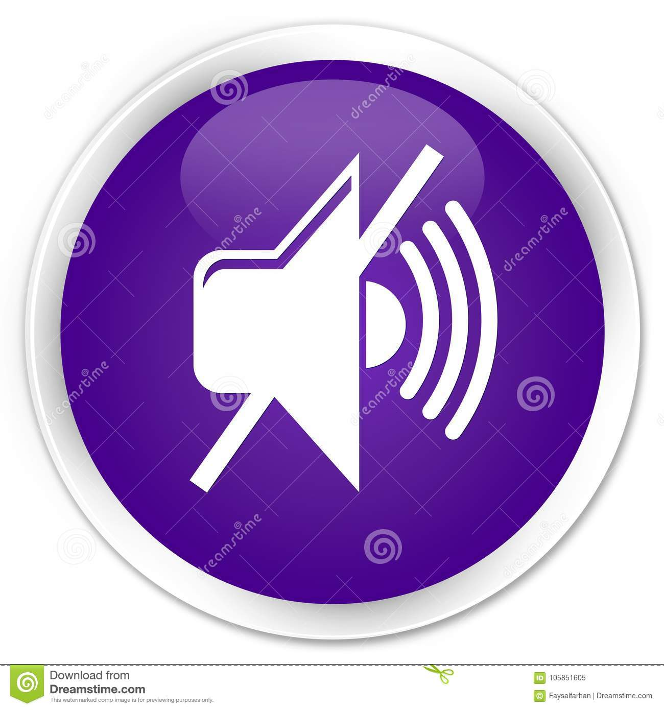 Phone Mute Icon Round Wiring Diagrams 220v3gozonegeneratorozonetubecircuitboard3ghrforwaterplant Volume Premium Purple Button Stock Illustration Rh Dreamstime Com Gps