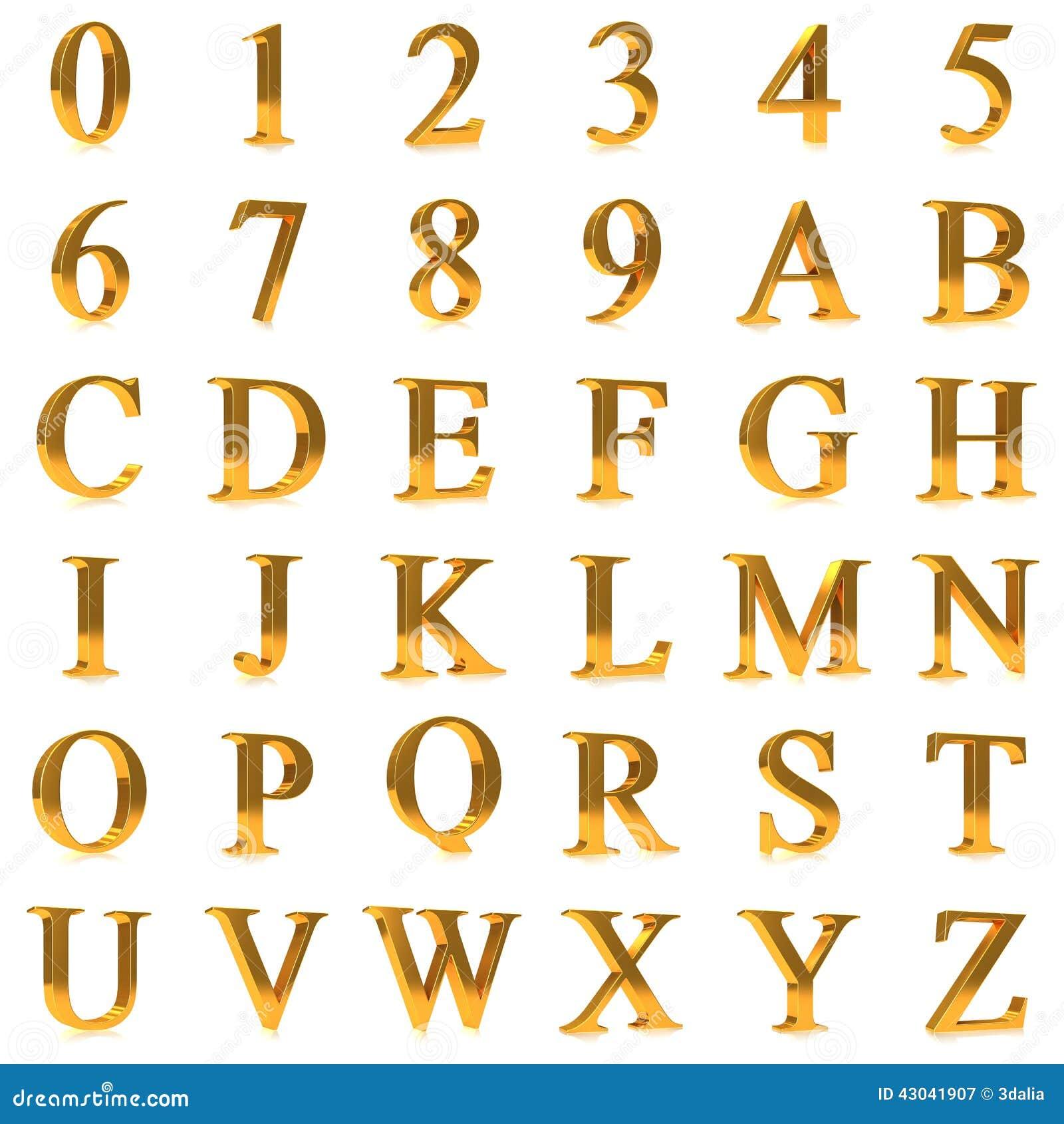 D Block Letters Font