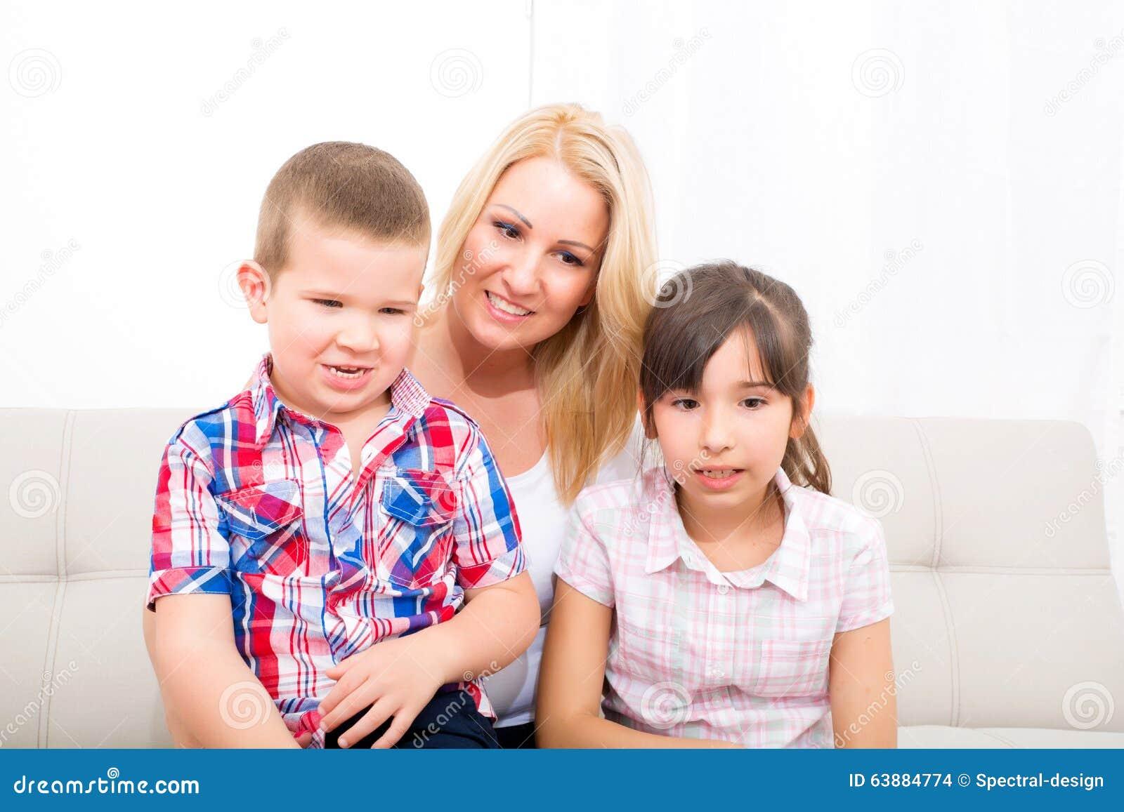 Tochter Und Sohn