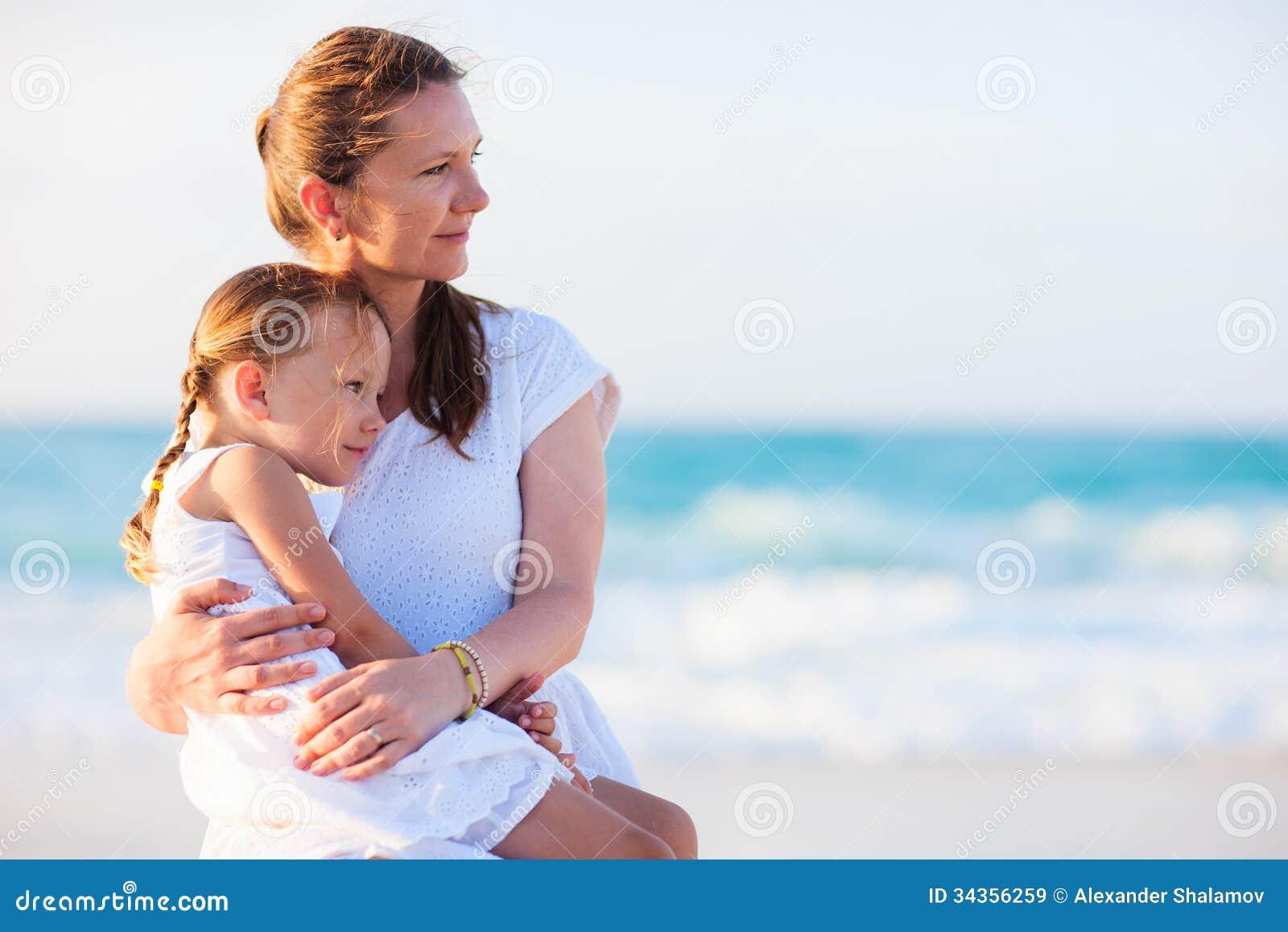 beliebtesten mutter tochter strand