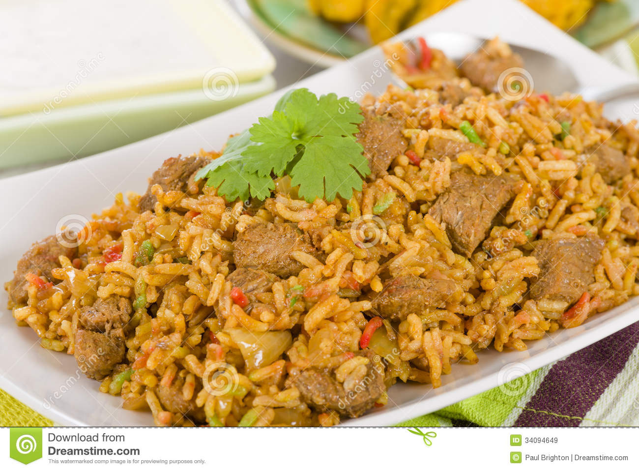 Mutton byriani royalty free stock images image 34094649 for 7 spices asian cuisine