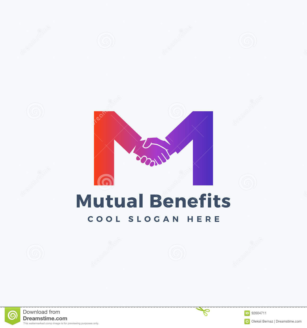 Shaking hands logo stock illustrations 190 shaking hands logo mutual benefit abstract vector sign symbol or logo template hand shake incorporated in letter biocorpaavc Images