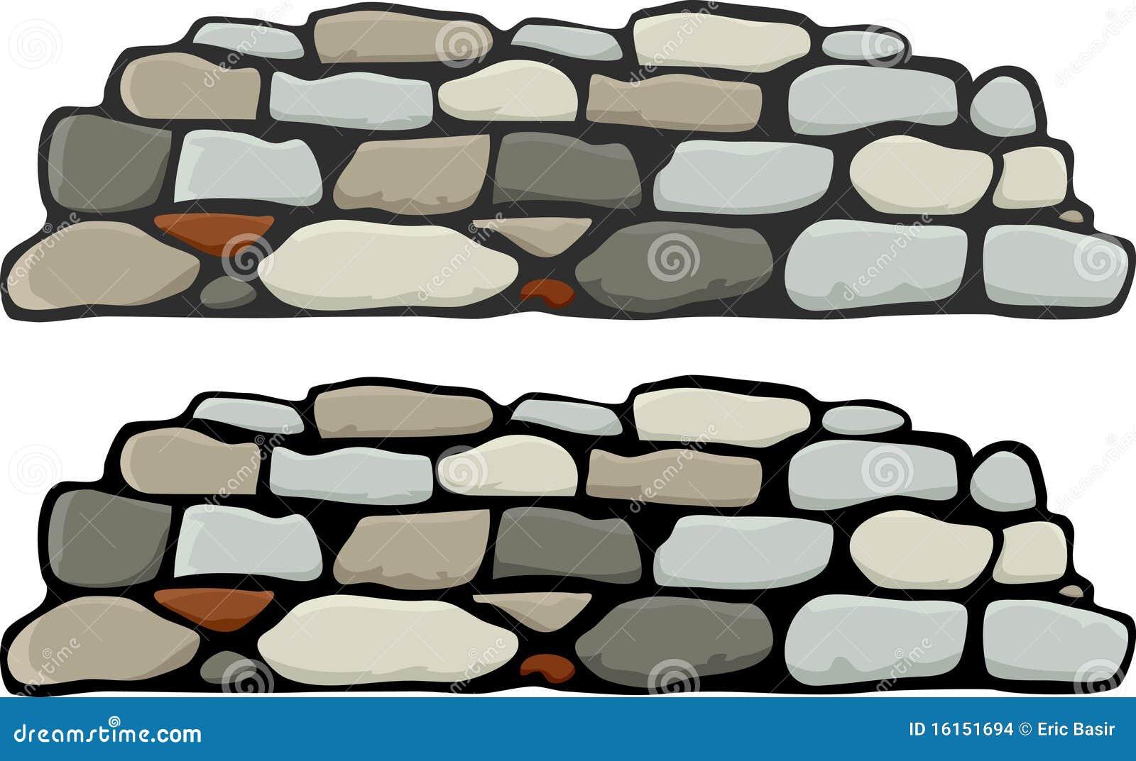 Muur I van de steen