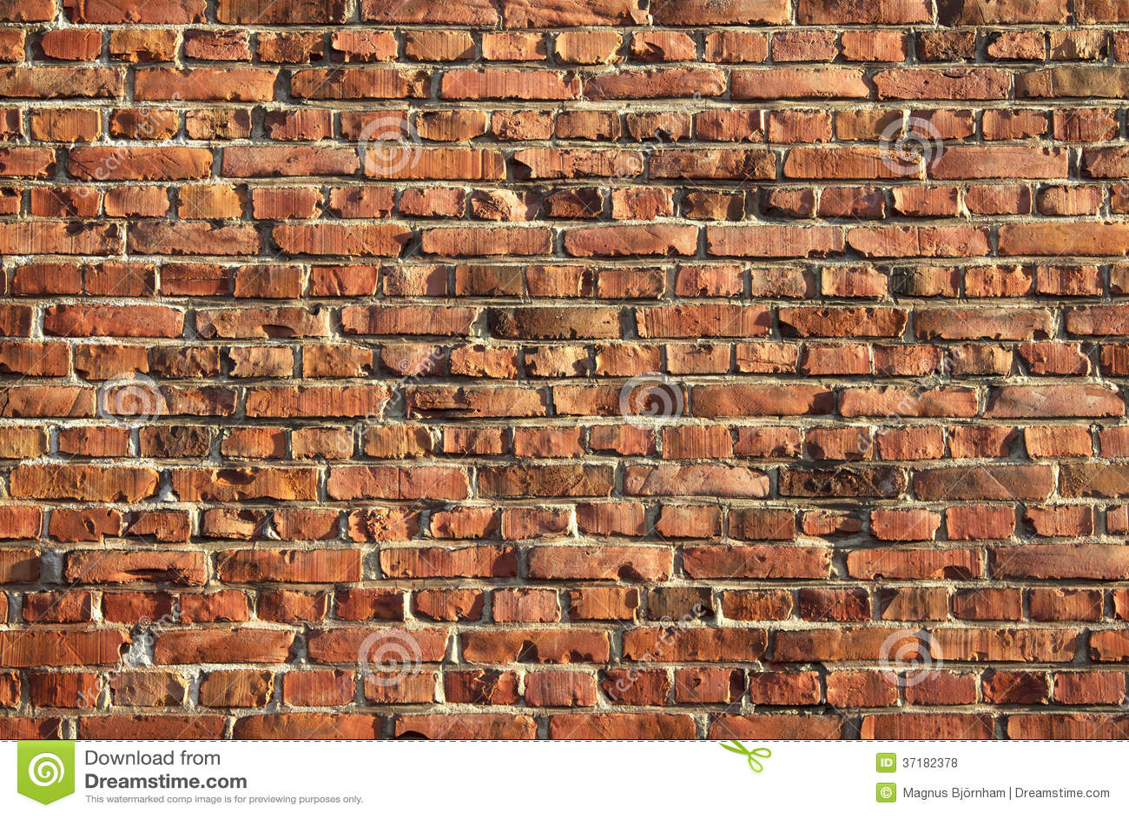 Muur van baksteen