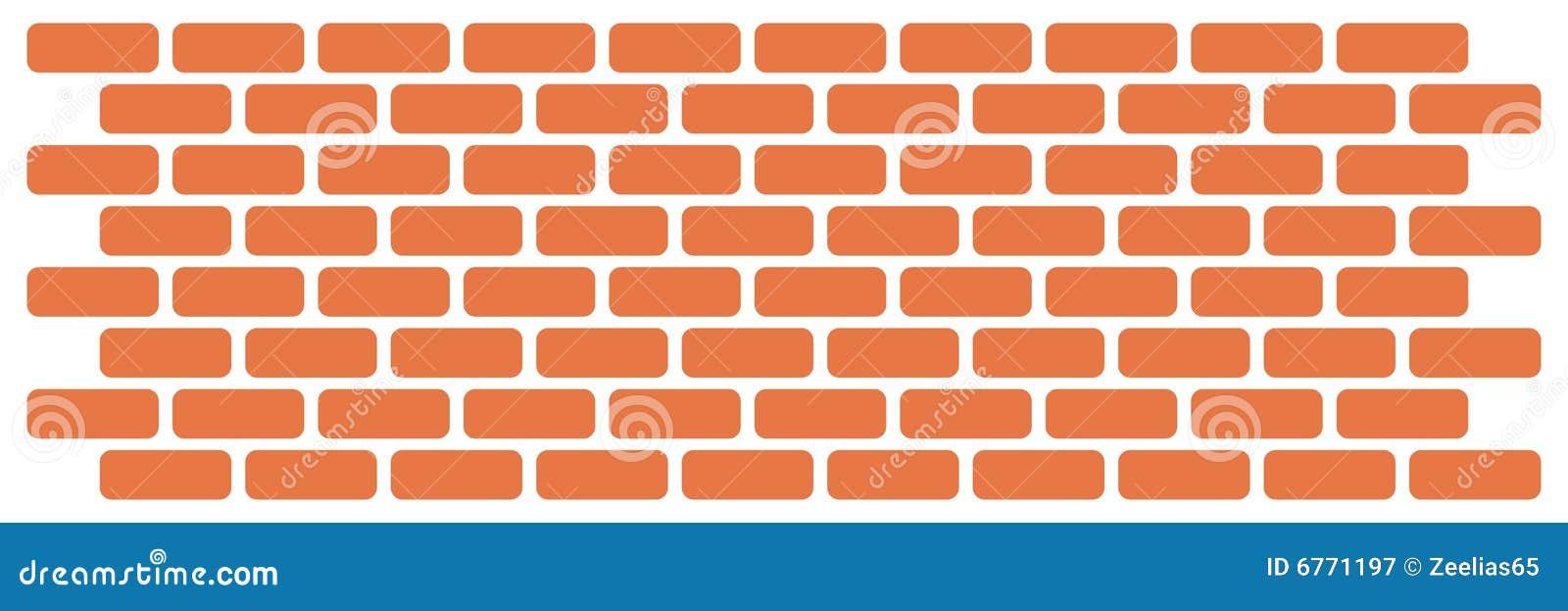 Muur van bakstenen