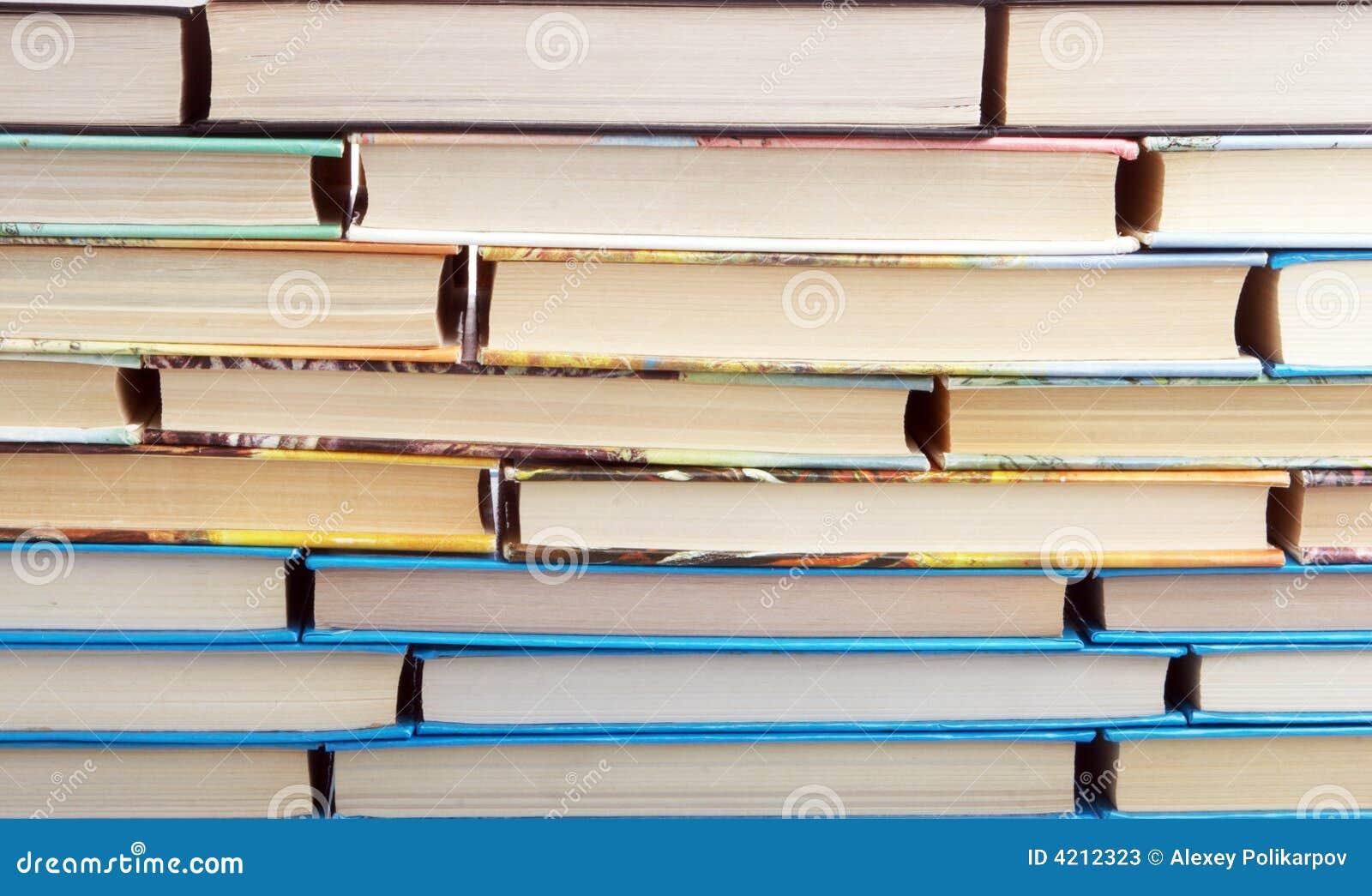 Muur van boeken stock foto 39 s afbeelding 4212323 - Muur bibliotheek ...