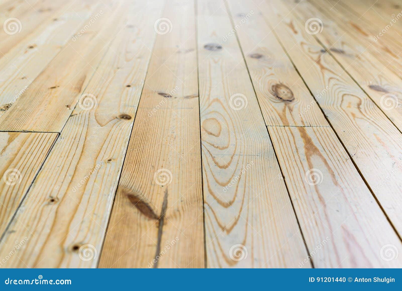 Muur van planken