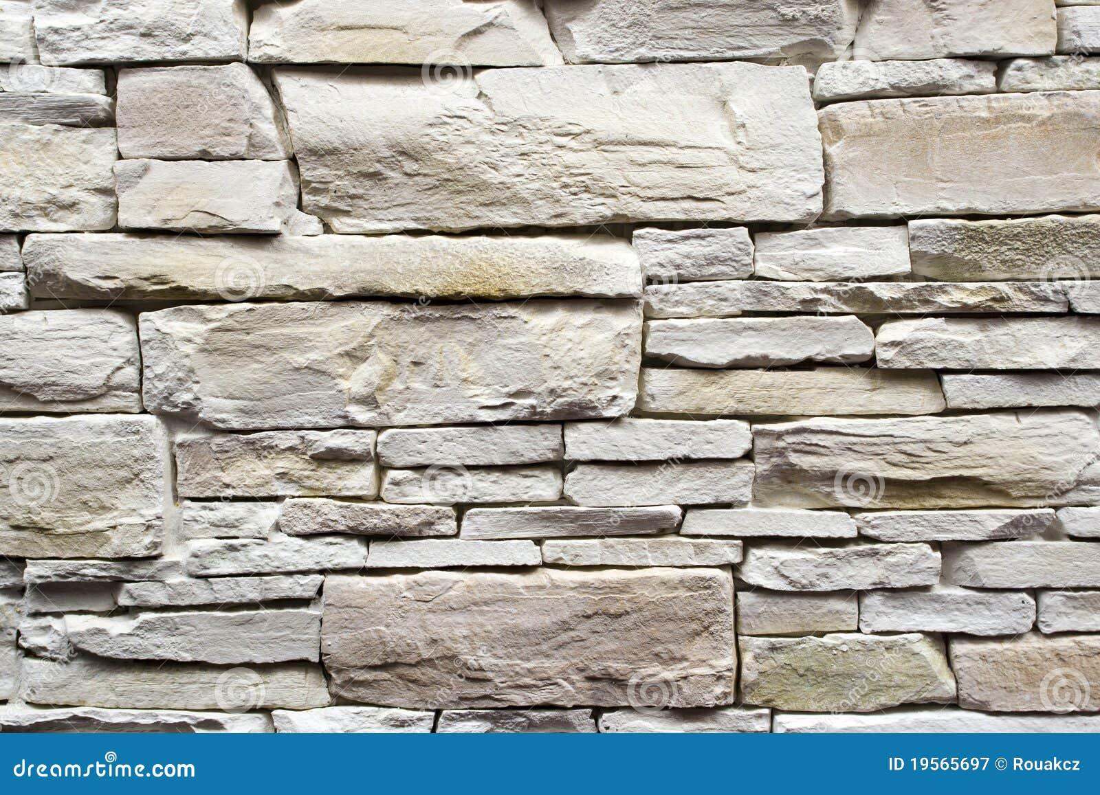 Muur van witte steen royalty vrije stock fotografie   afbeelding ...