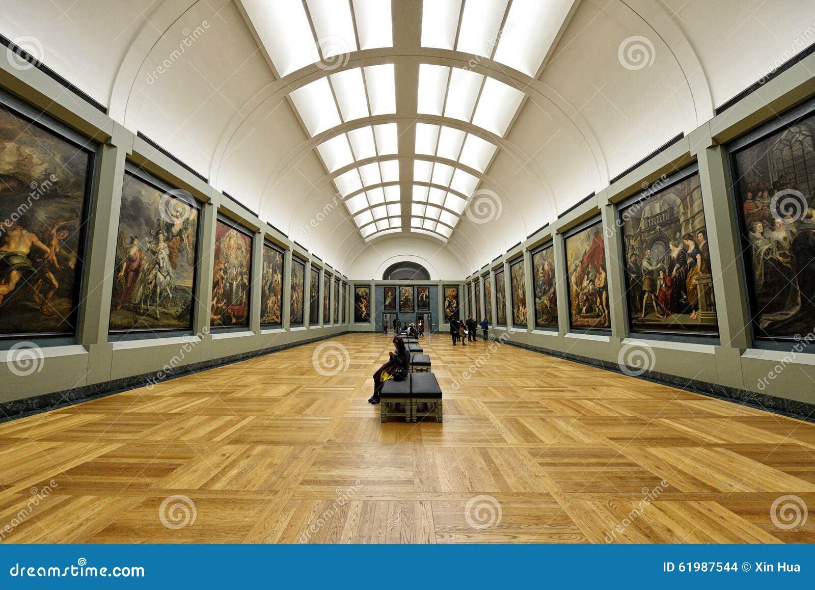 Muzealny louvre, Paryż