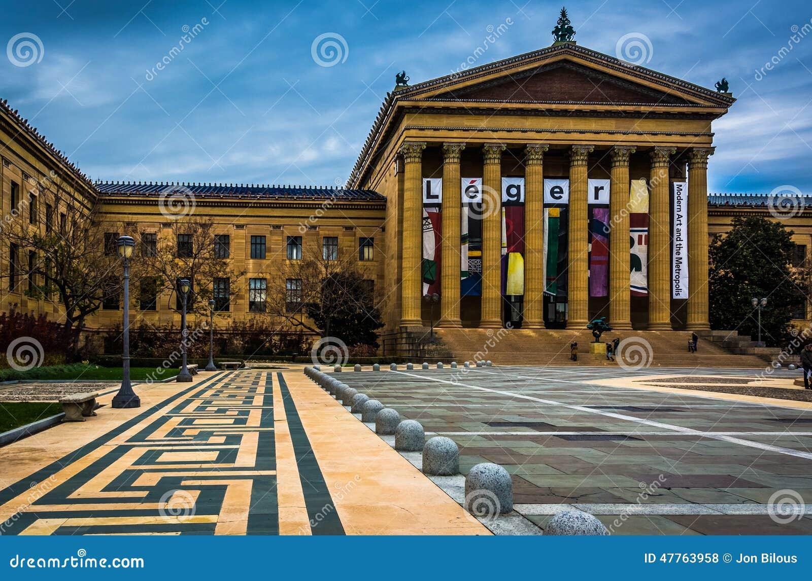 Muzeum sztuki w Filadelfia, Pennsylwania