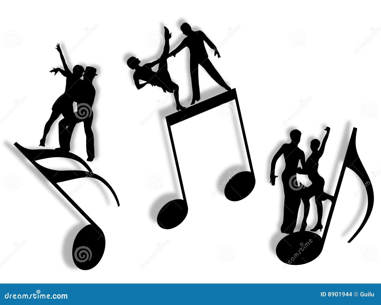 Muziek En Dans Stock Afbeeldingen - Afbeelding: 8901944