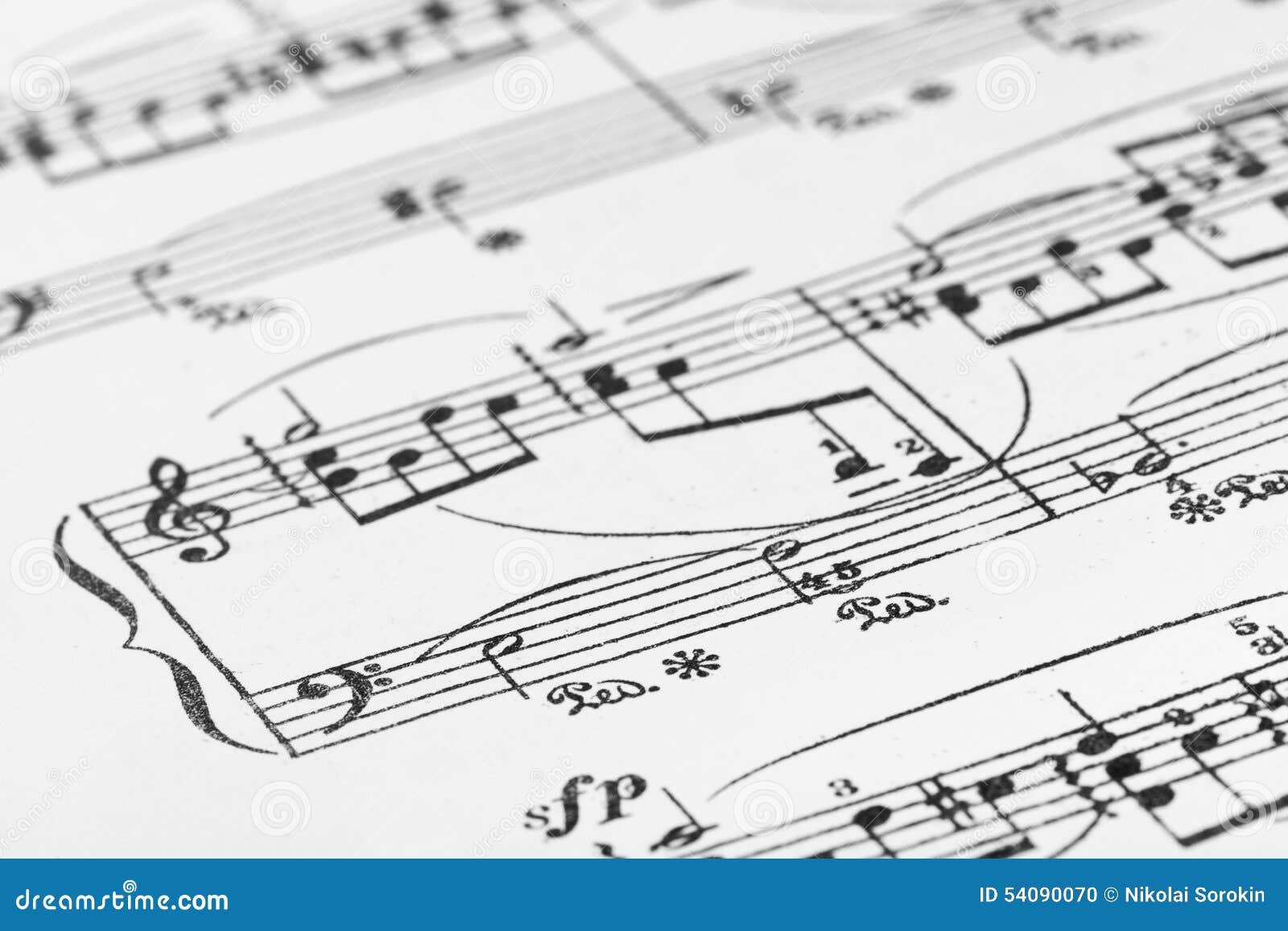 Muziekblad