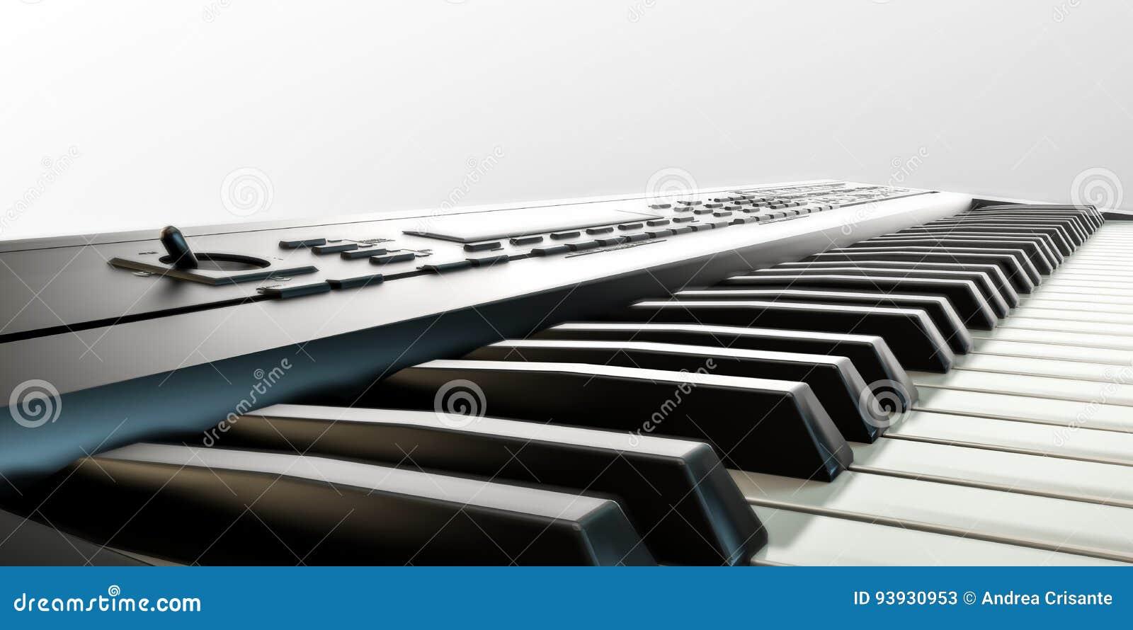 Muzikaal toetsenbord