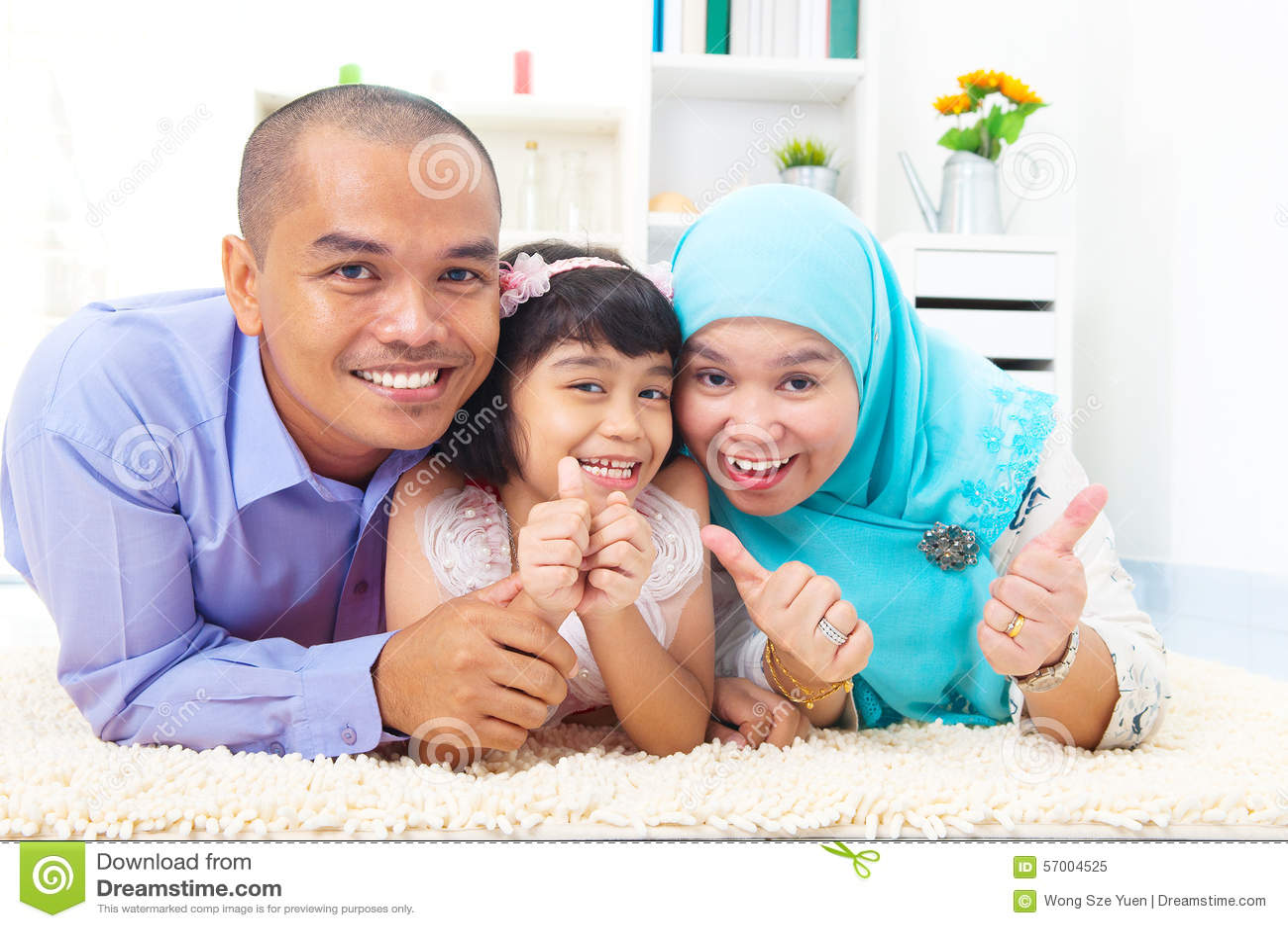 Muzułmańska rodzina
