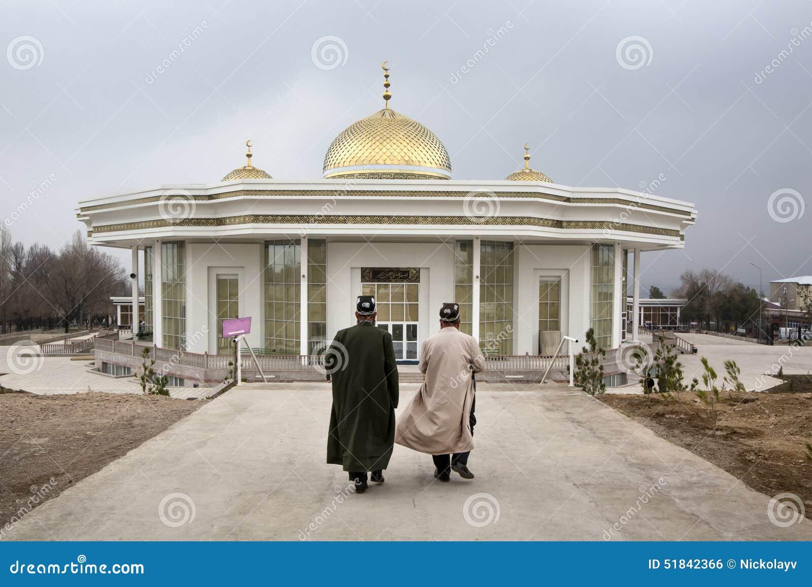 Muzułmanie iść ono modlić się