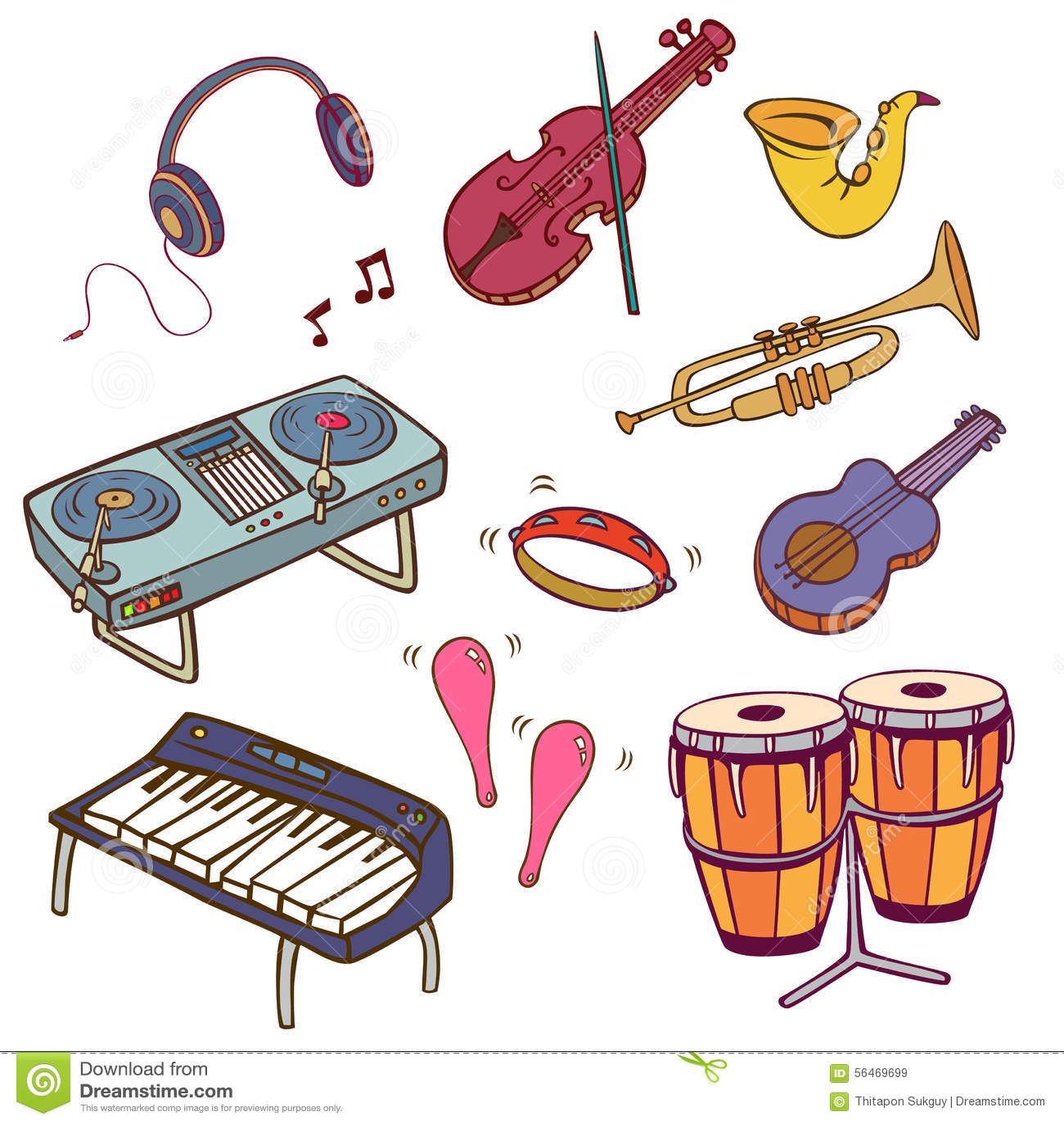 Muzyczni instrumenty