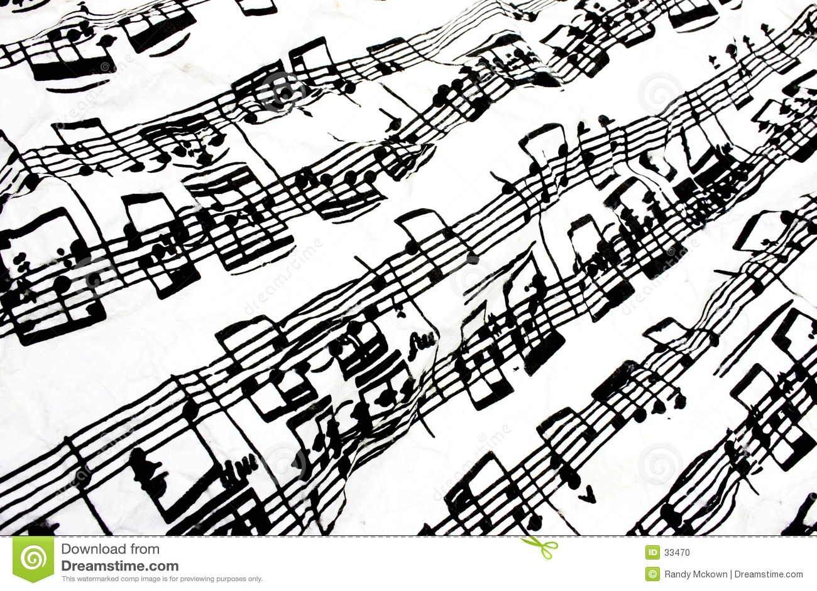 Muzyka bieżący opończy