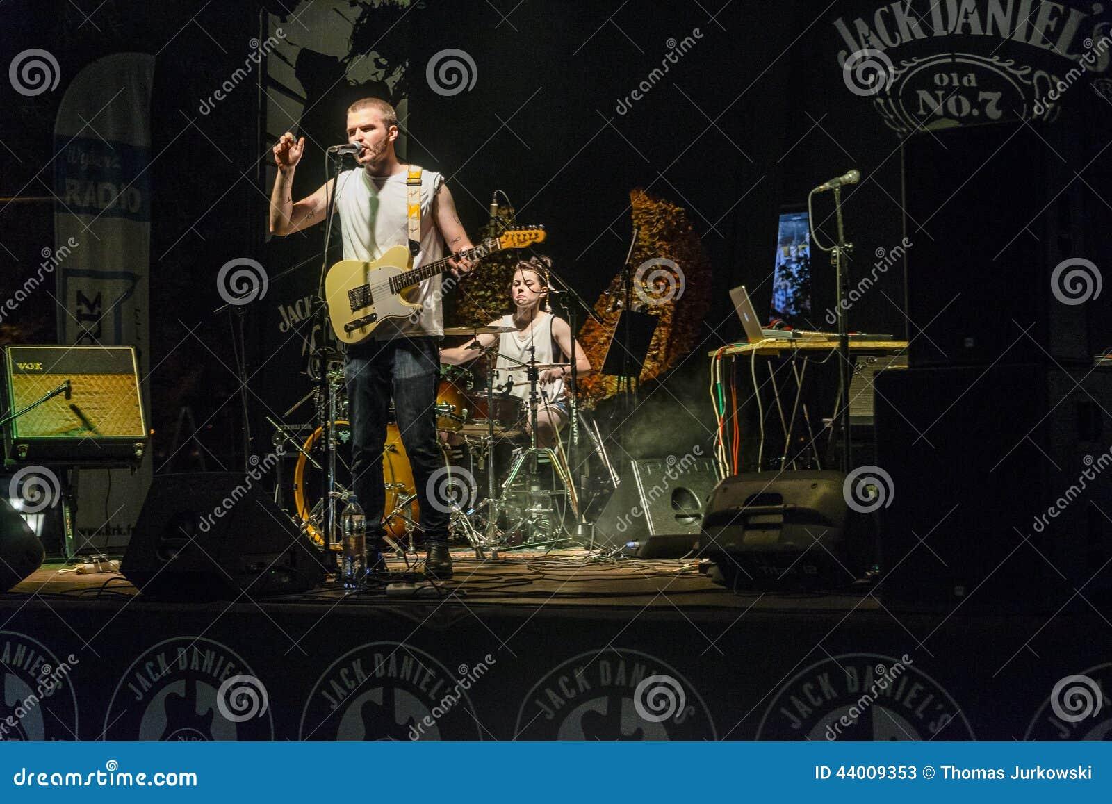 Muzyka rockowa koncert