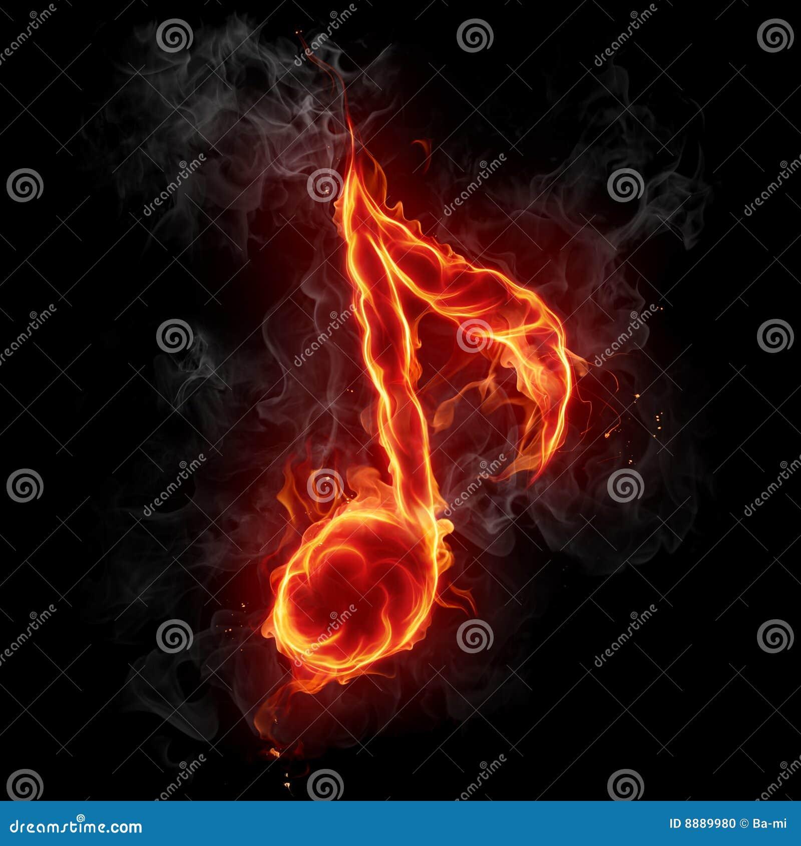 Muzykalnej notatki symbol