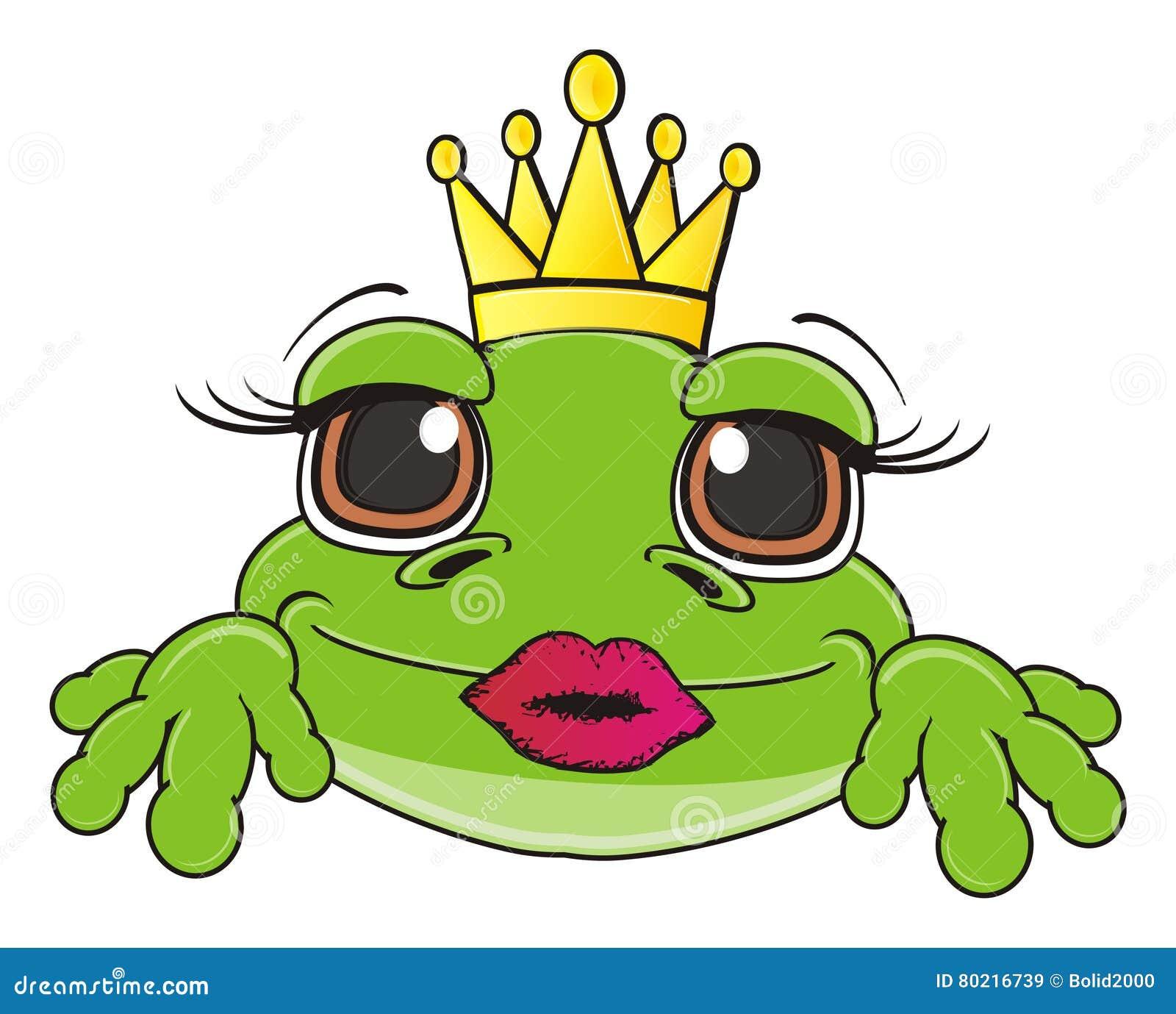 green frog girl nude