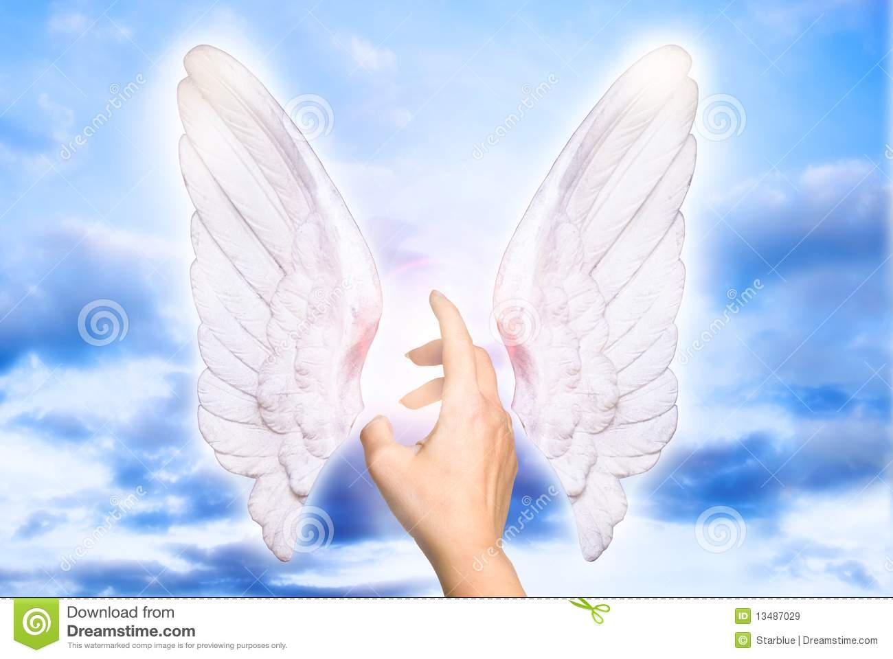 Stock Photos Royalty Free My angel Royalty Free Stock