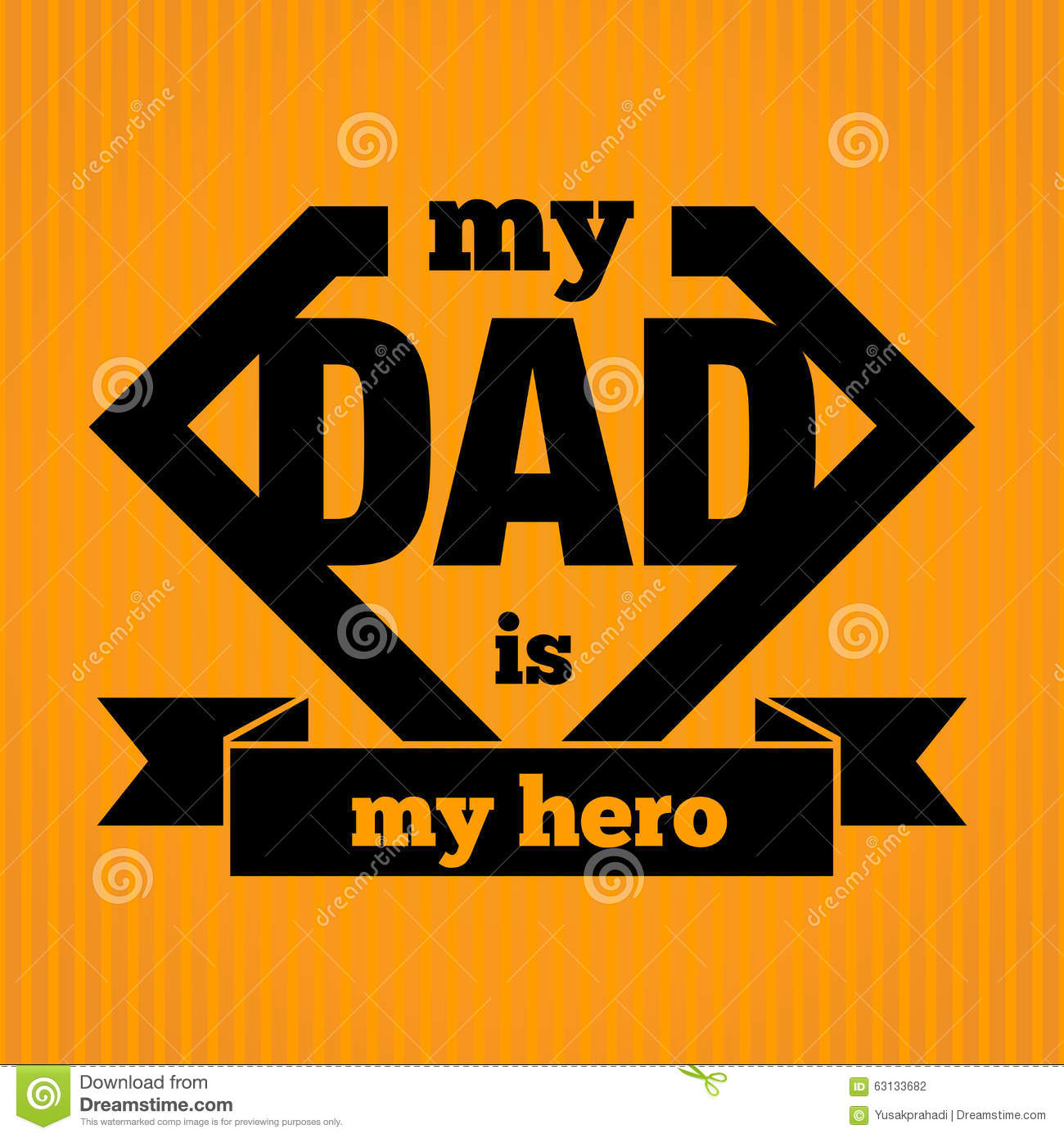 my dad is my superhero In june 2015, my father was diagnosed with glioblastoma, an aggressive type of  brain cancer, after he had a seizure at work i received a call.