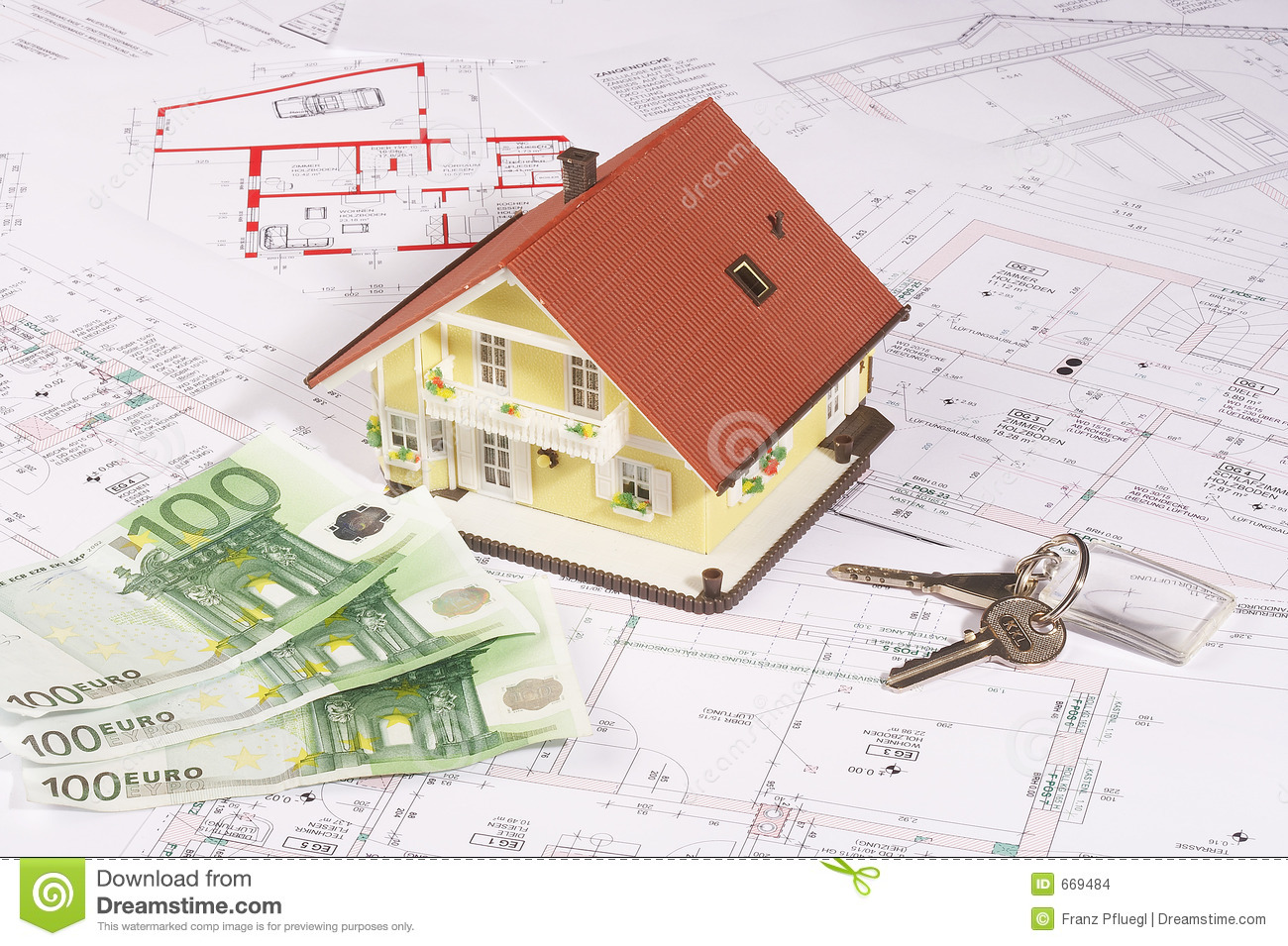 My house and money