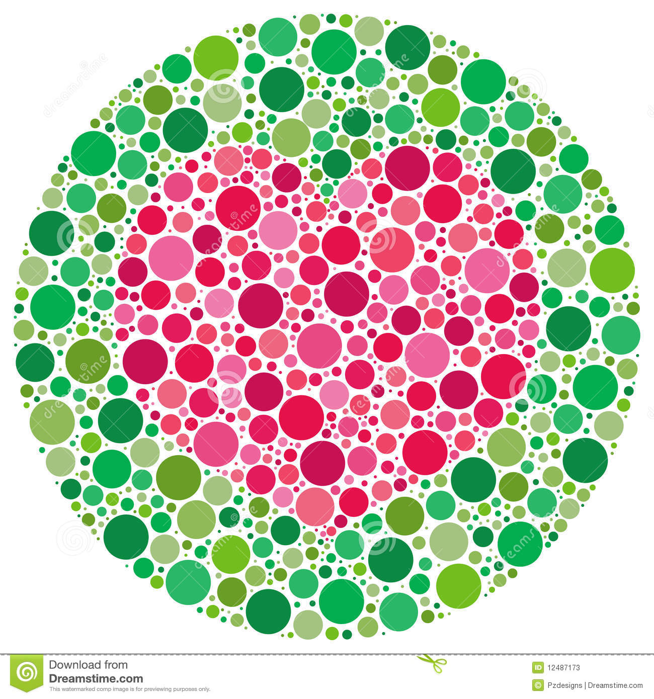 My Love is Colour Blind stock vector. Illustration of shapes - 12487173