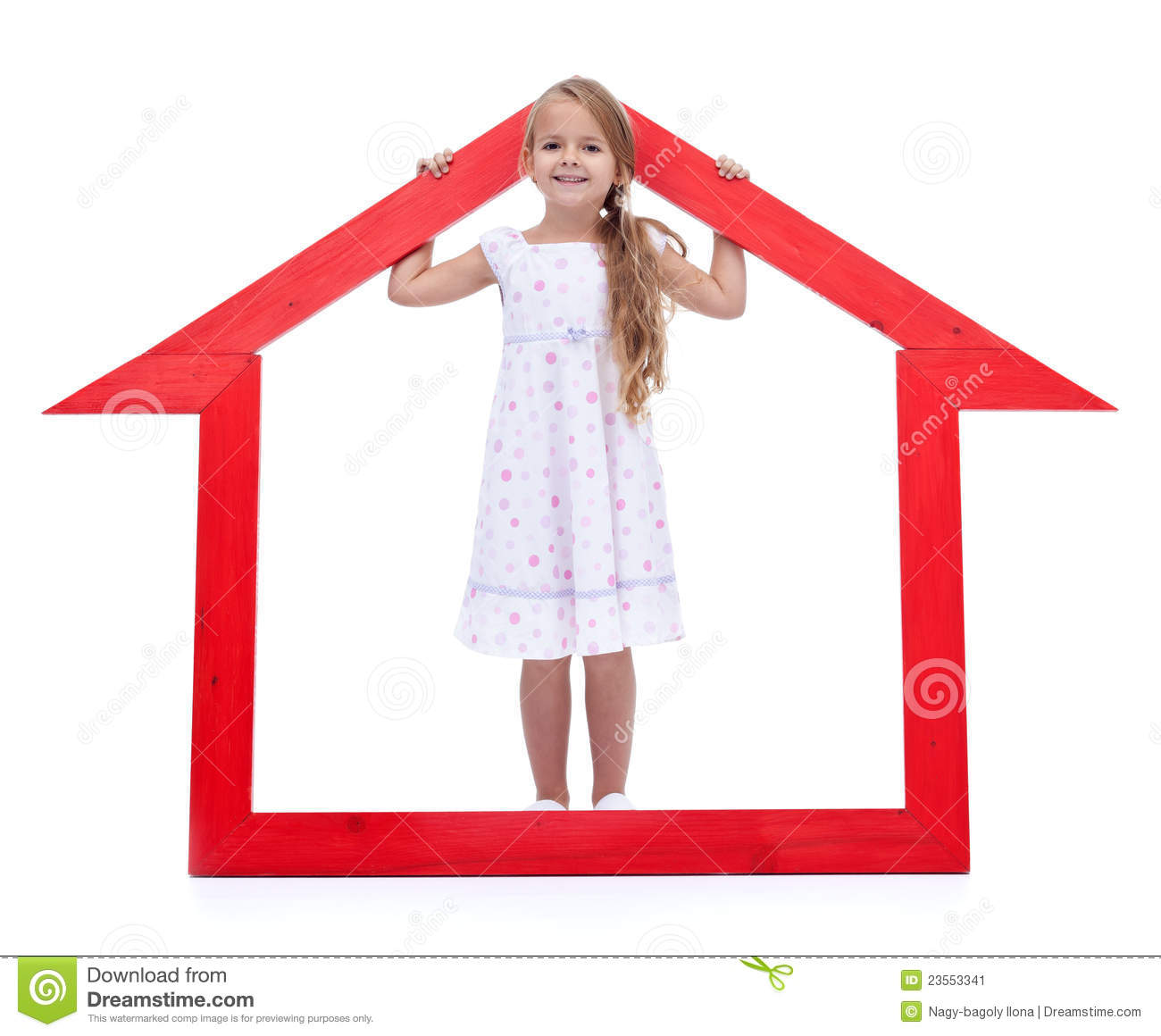 This is my new home stock image image 23553341 for My new home