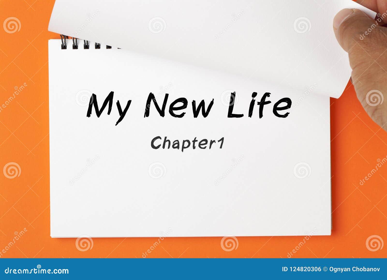 My New Life Concept