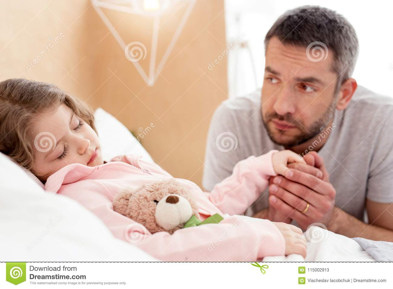 Daddy I Have Trouble Sleeping