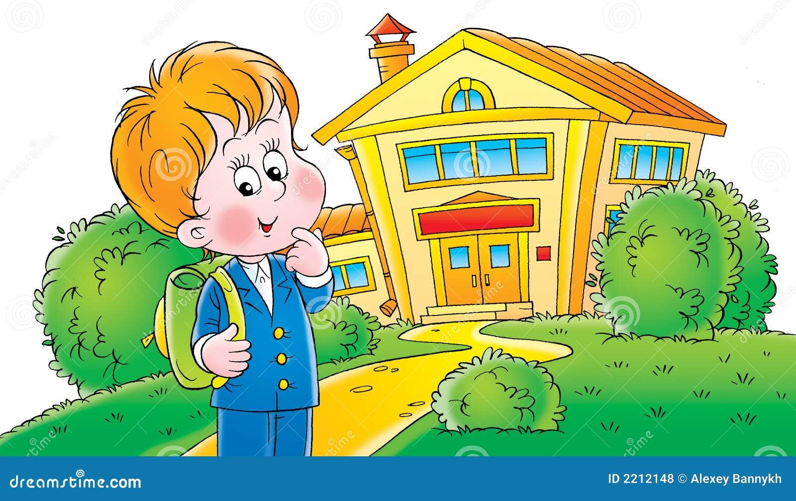 My school stock illustration image of children childish 2212148 - Build my home online image ...