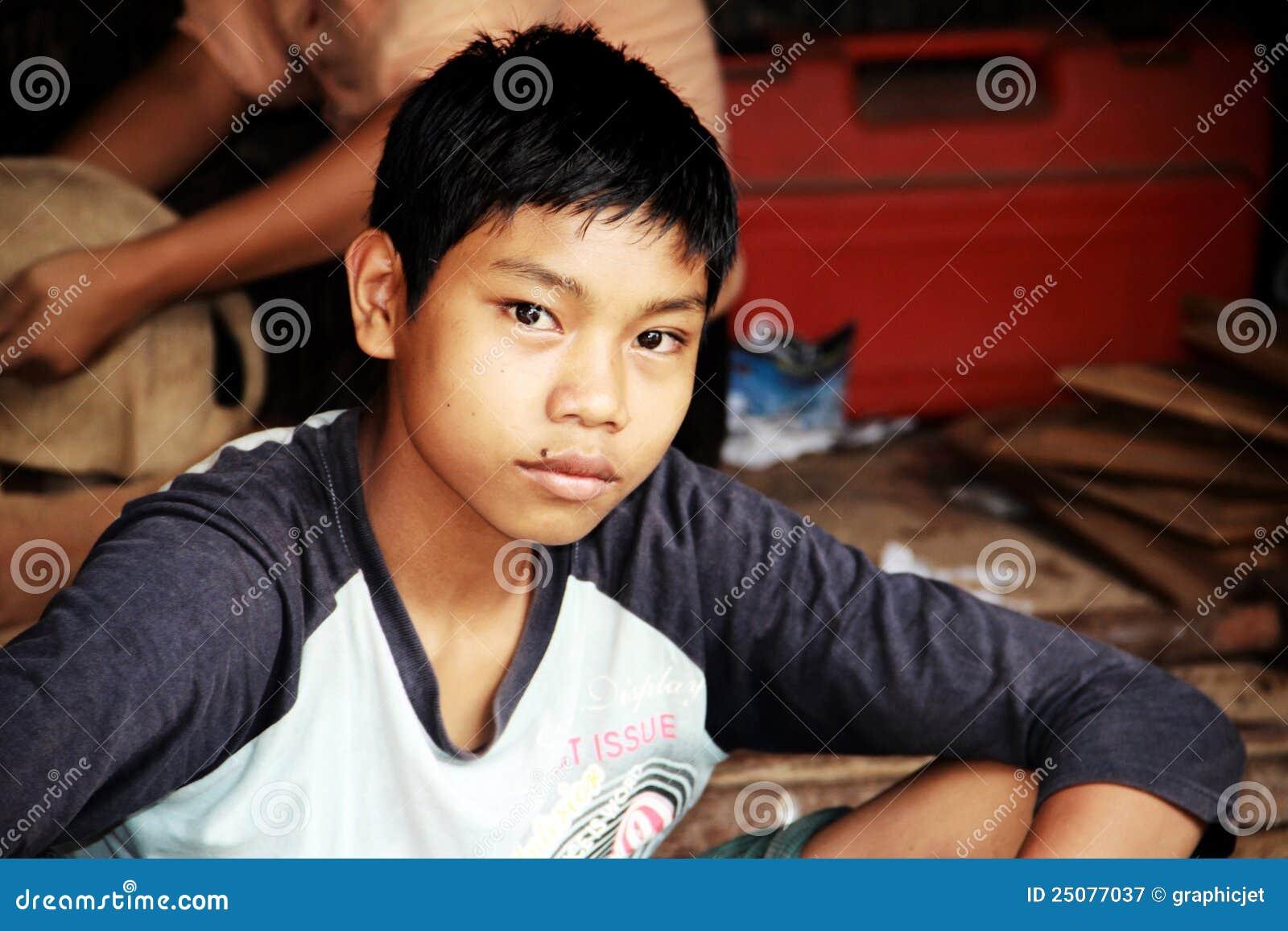 Myanmar Boy Editorial Photography Image Of Stupa, Male -3369