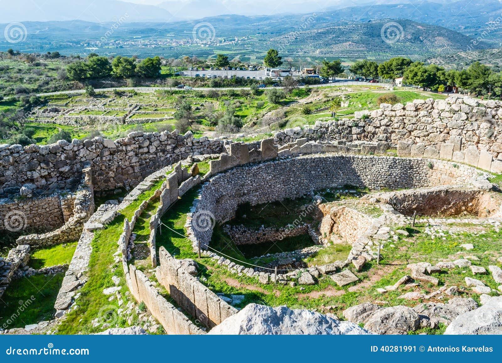 Mycenae, αρχαιολογική θέση στην Ελλάδα
