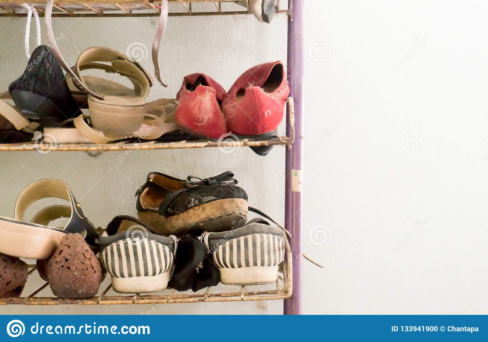Mycket gamla skor
