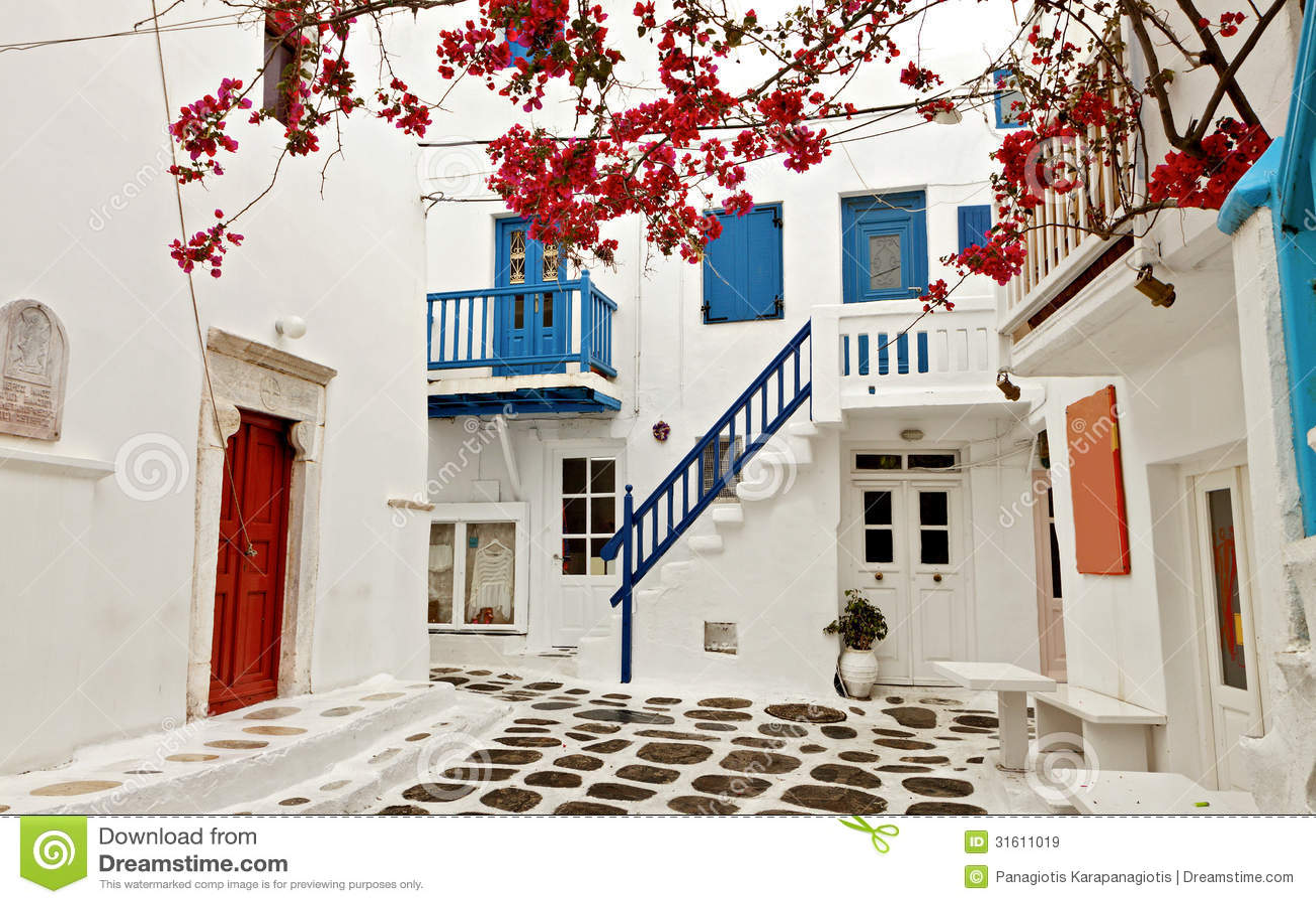 Mykonos海岛在希腊