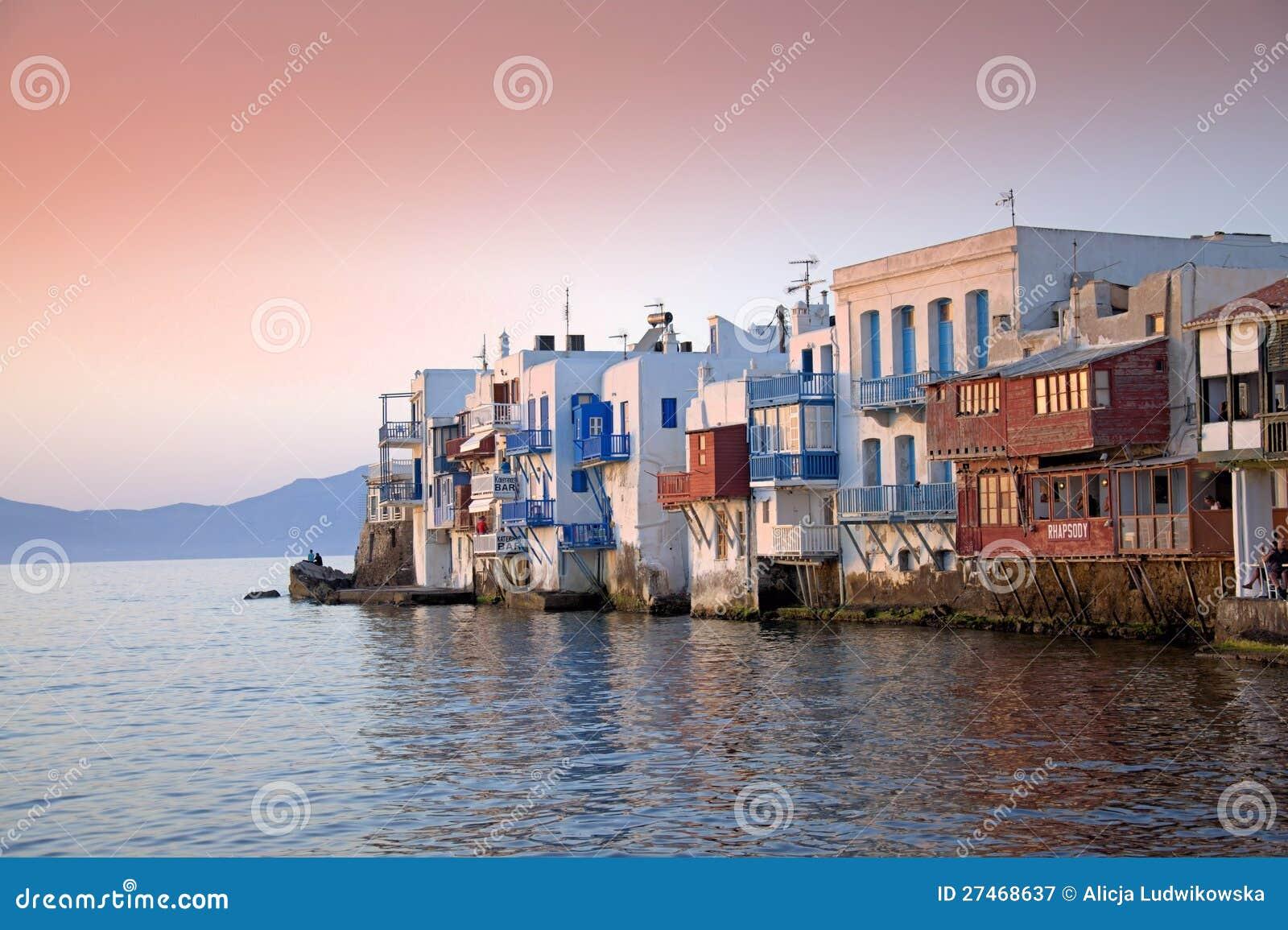 Mykonos små Venedig