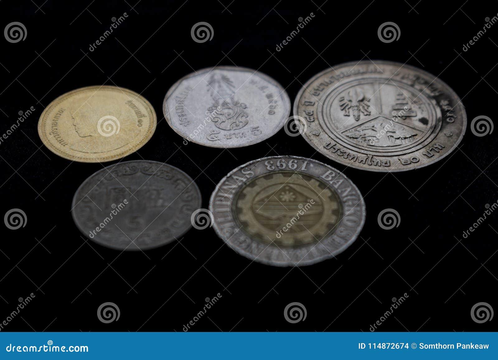 Mynt av många länder