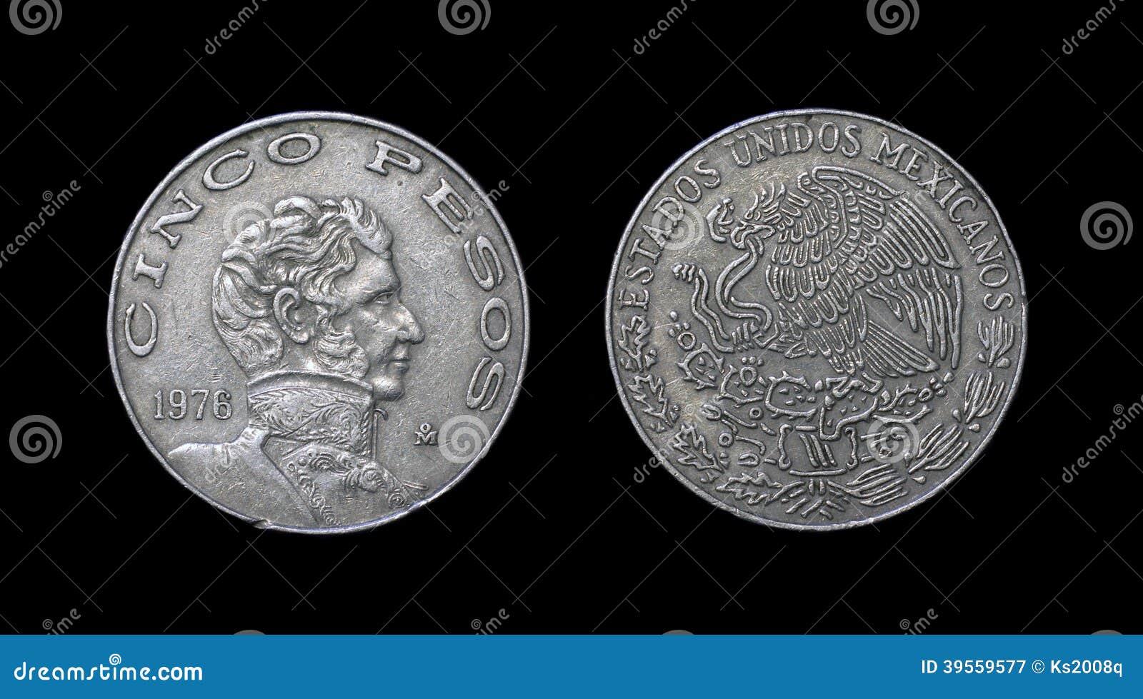 Mynt av Mexico - århundrade XX