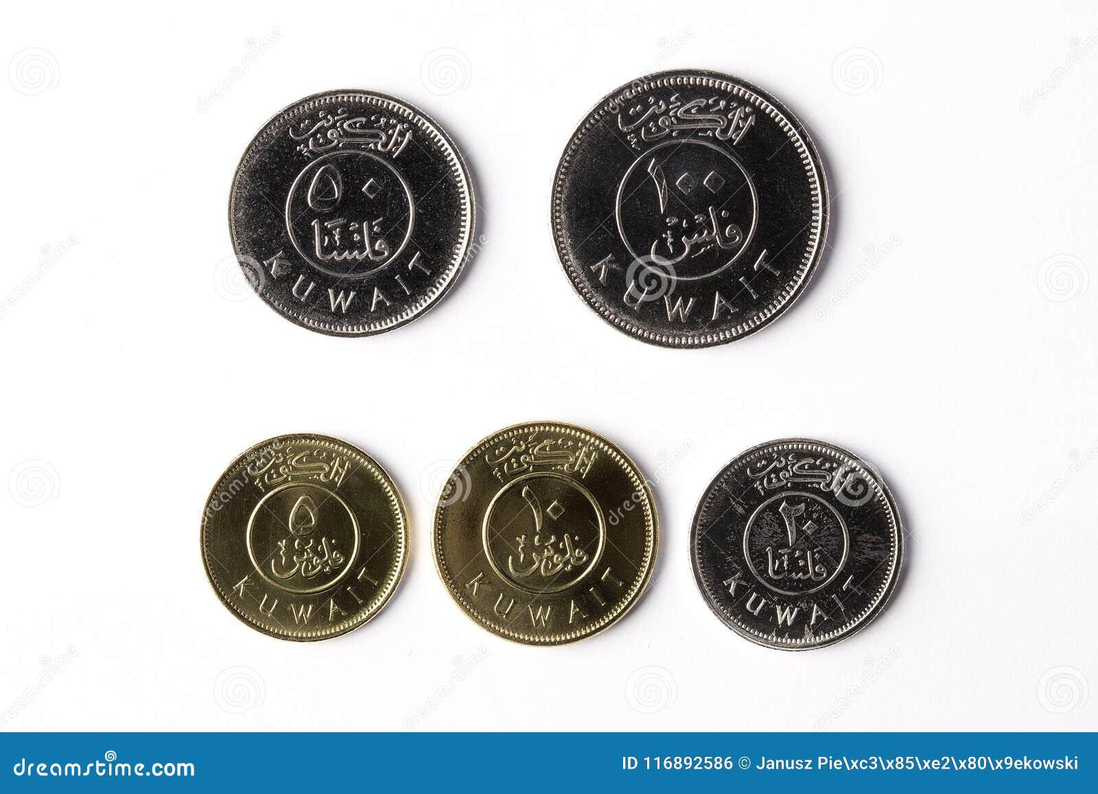 Mynt från Kuwait