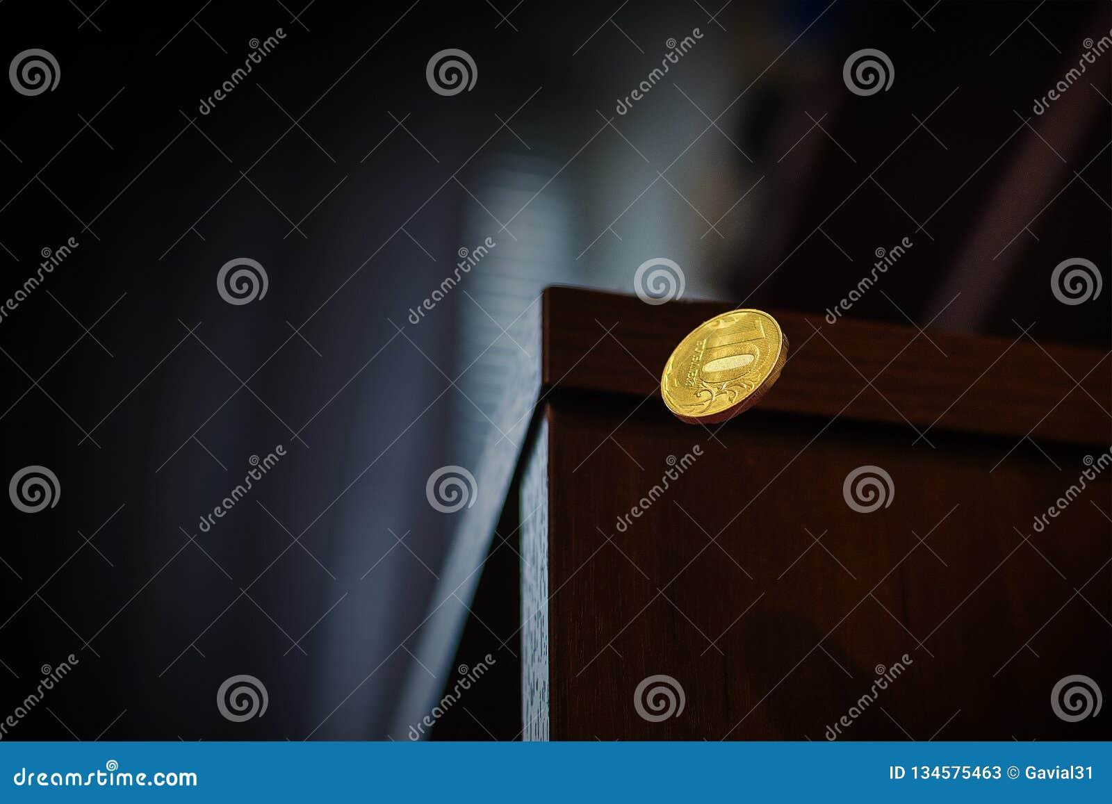 Myntnedgångar av tabellen